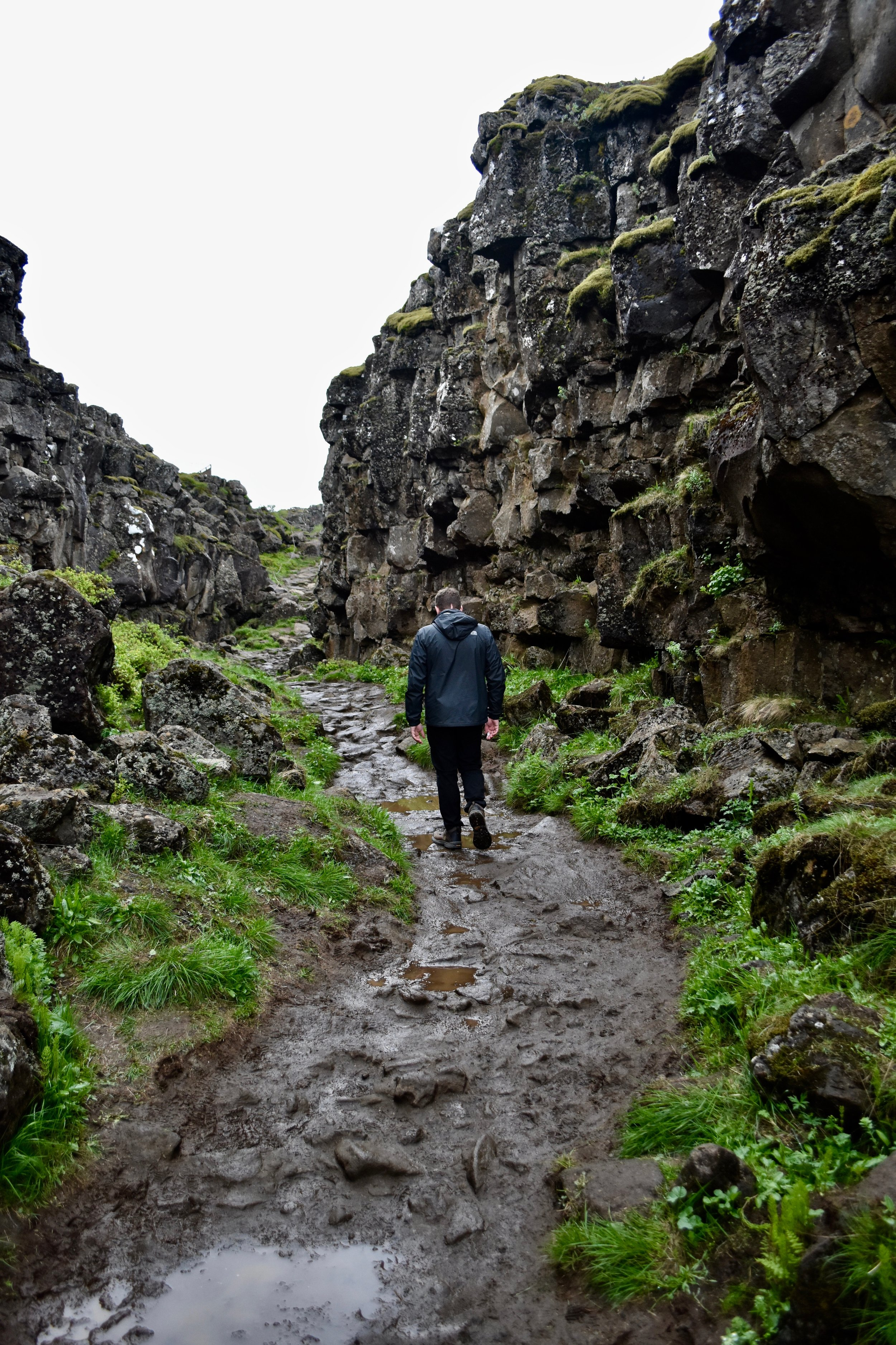 Thingvellir National Park in Golden Circle near Reykjavik, Iceland