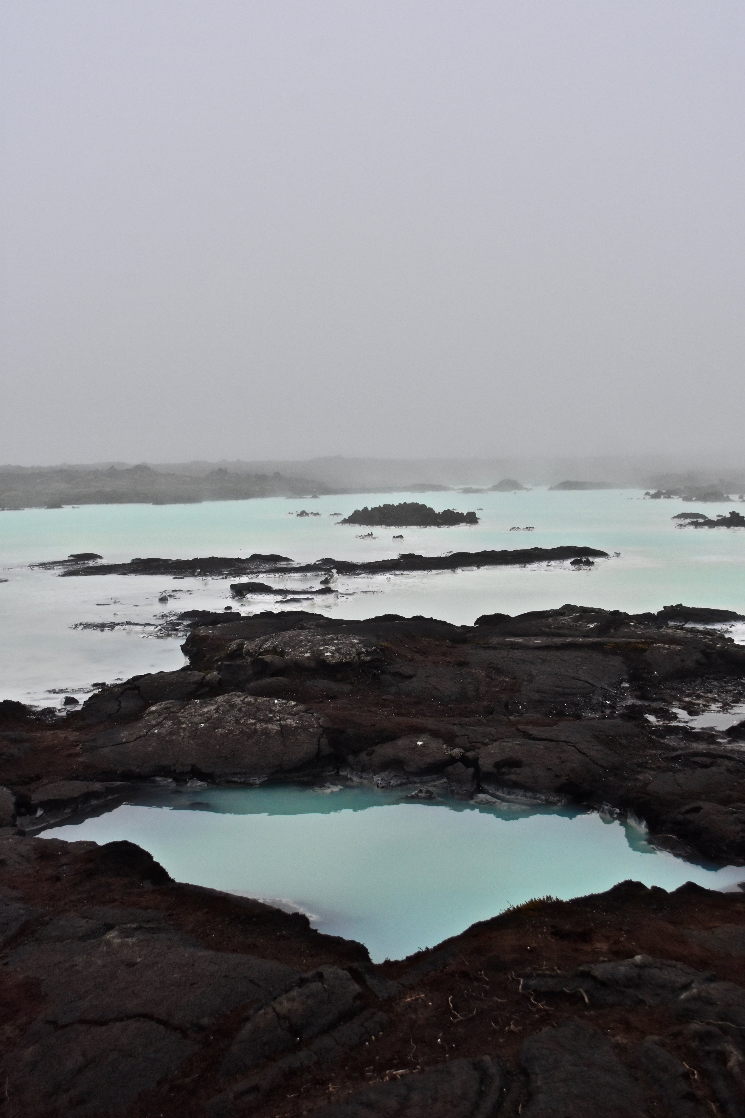 The Blue Lagoon near Reykjavik, Iceland