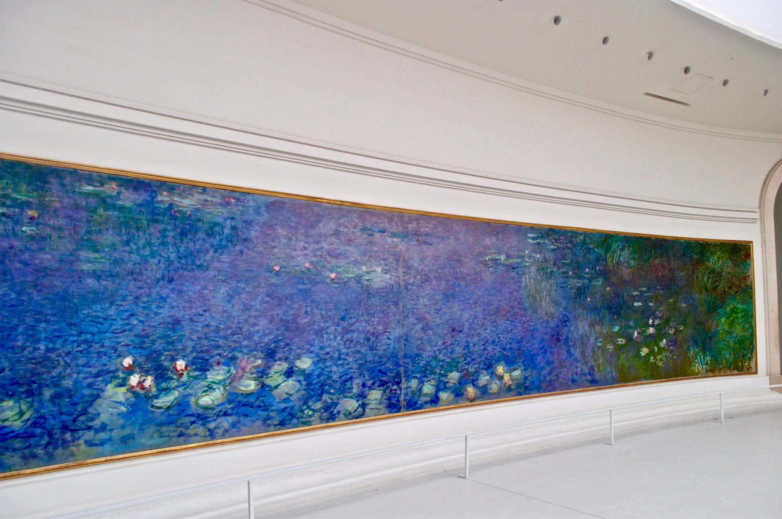 Water Lily Paintings at Musée National de l'Orangerie
