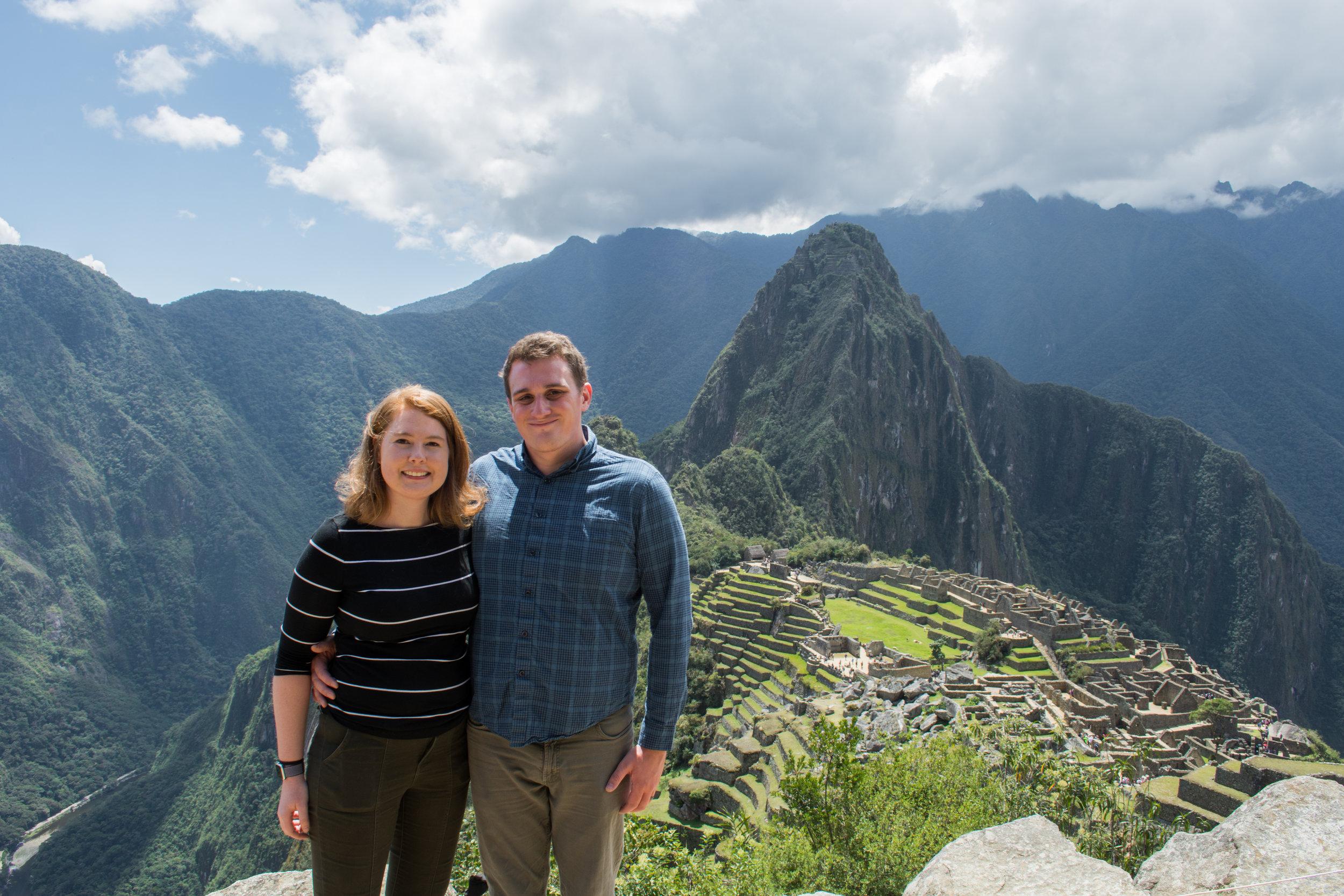 Storm Clouds rolling in at Machu Picchu