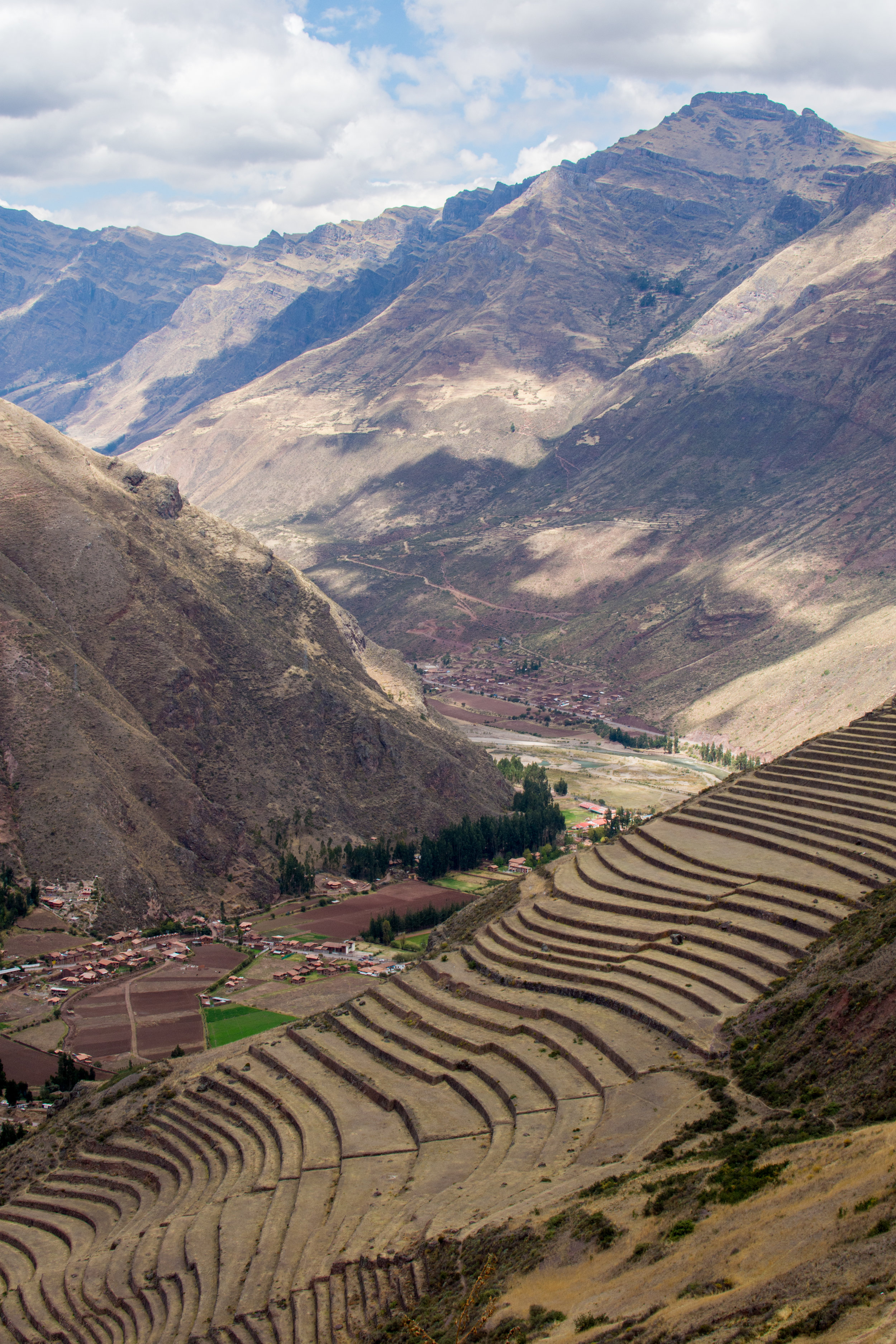 Agricultural Terraces at Pisac Ruins