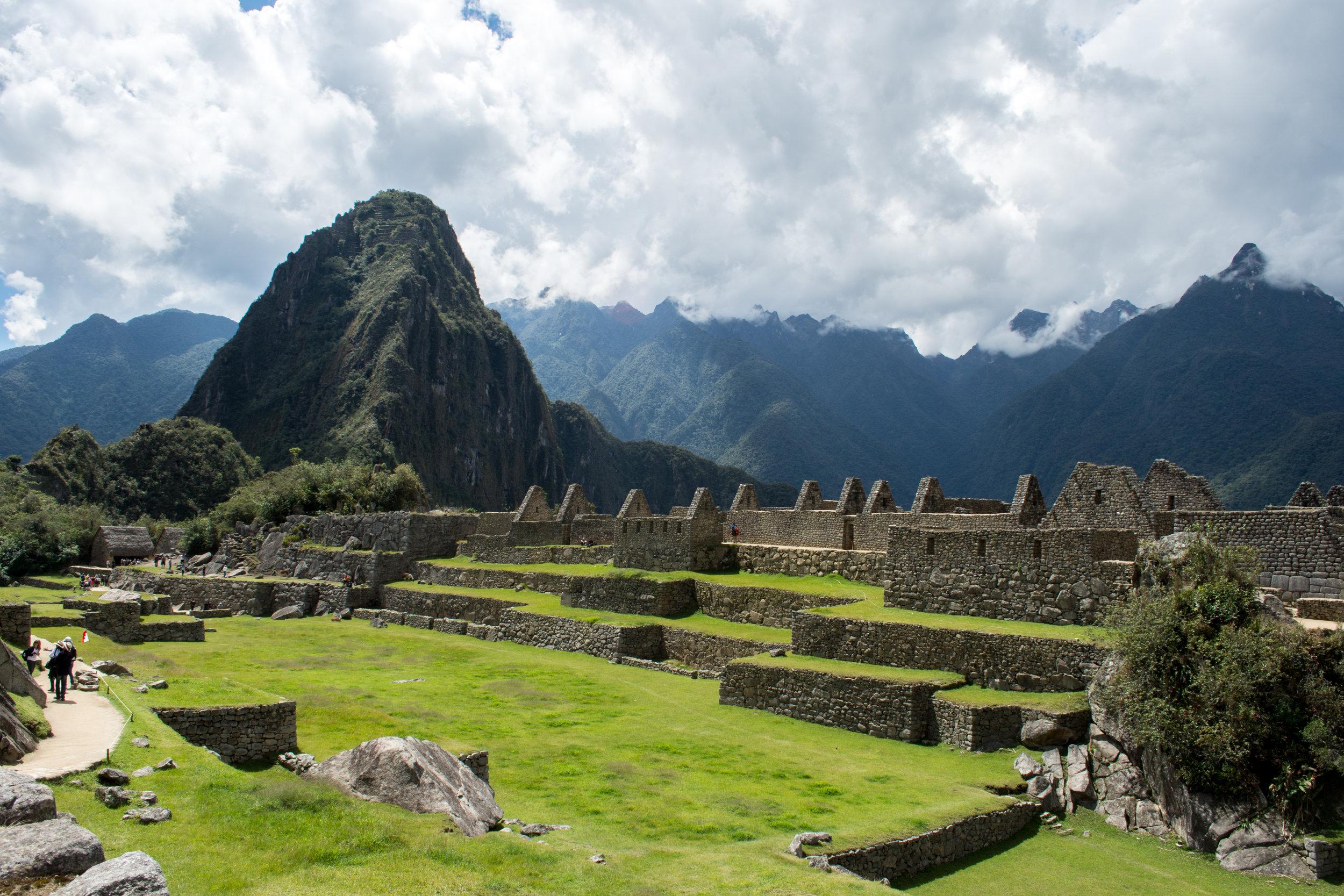 Main Square of Machu Picchu