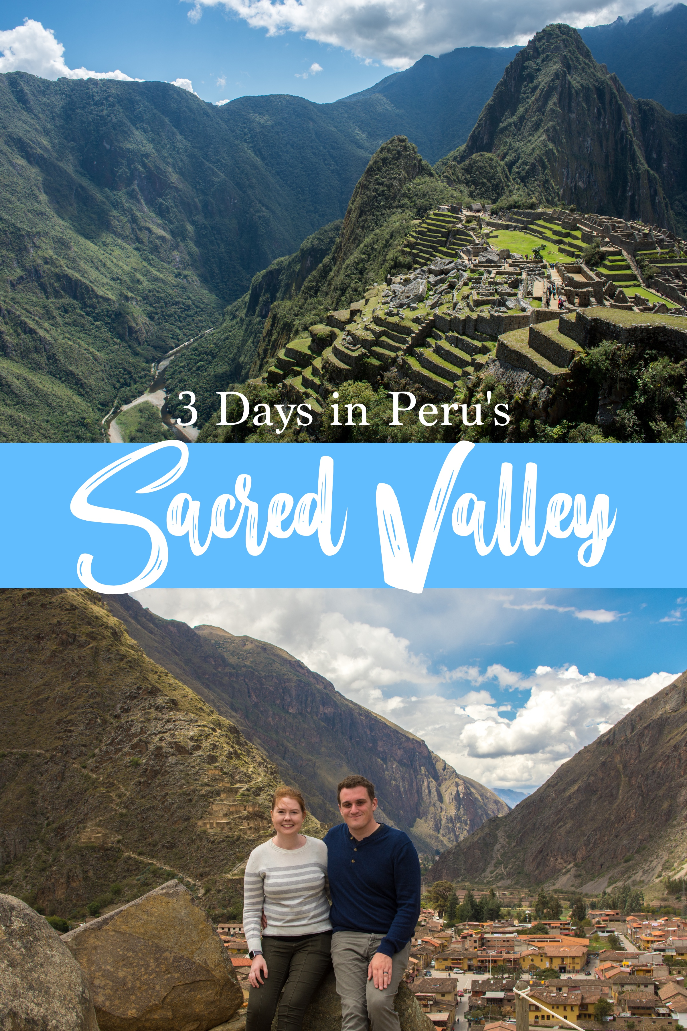 With most visitors beelining to the incredible bucket-list destination of Machu Picchu, the rest of Peru's Sacred Valley is often forgotten.  To fully experience this area, spend a few days outside of Cusco in the Sacred Valley of the Incas. 3 Days in the Sacred Valley #Peru #MachuPicchu #SacredValley