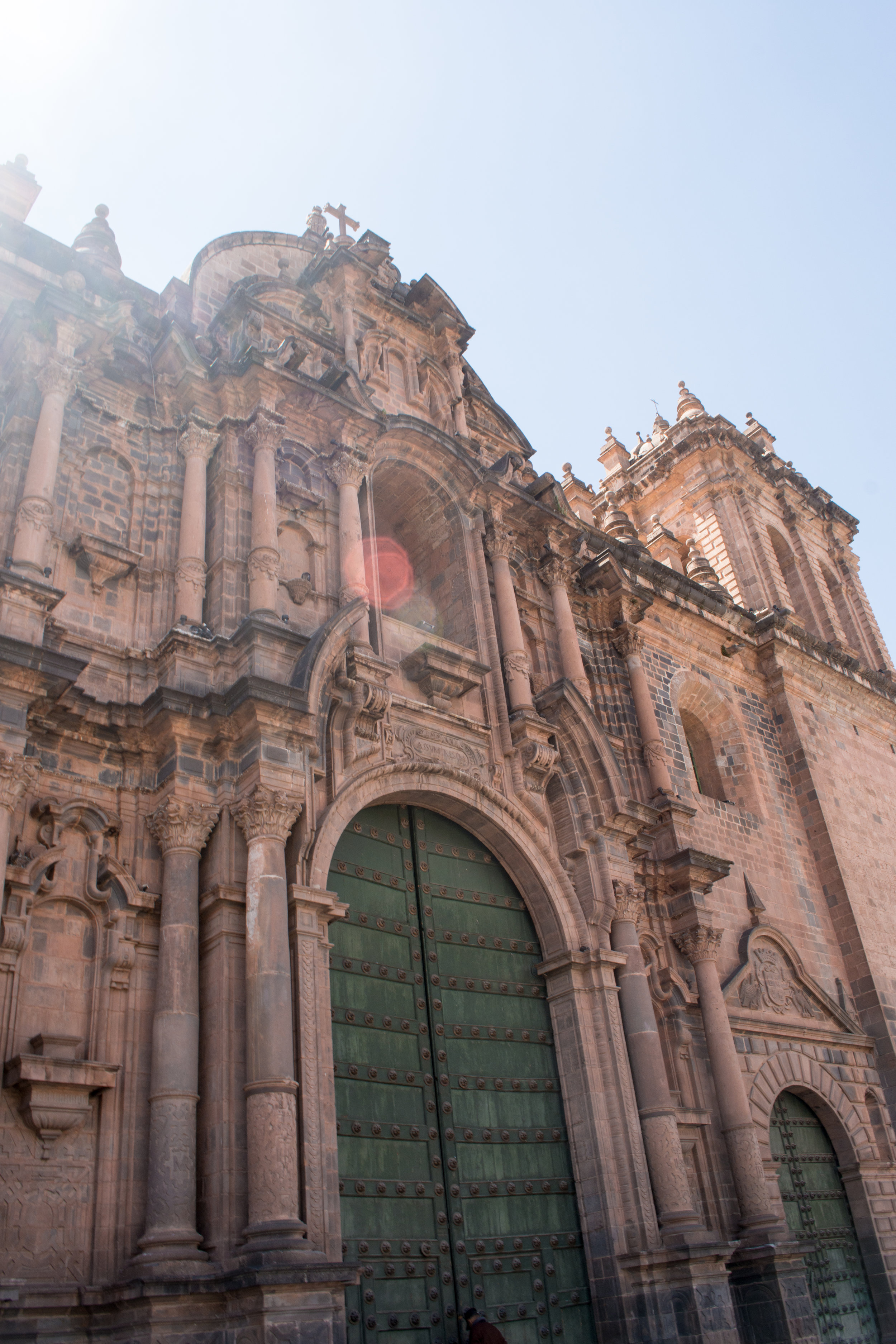 Exterior of Cusco Cathedral