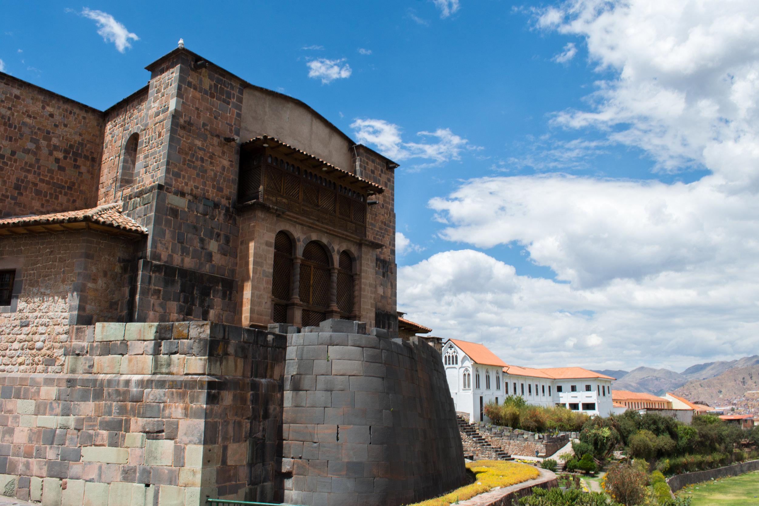 Exterior of Qurikancha