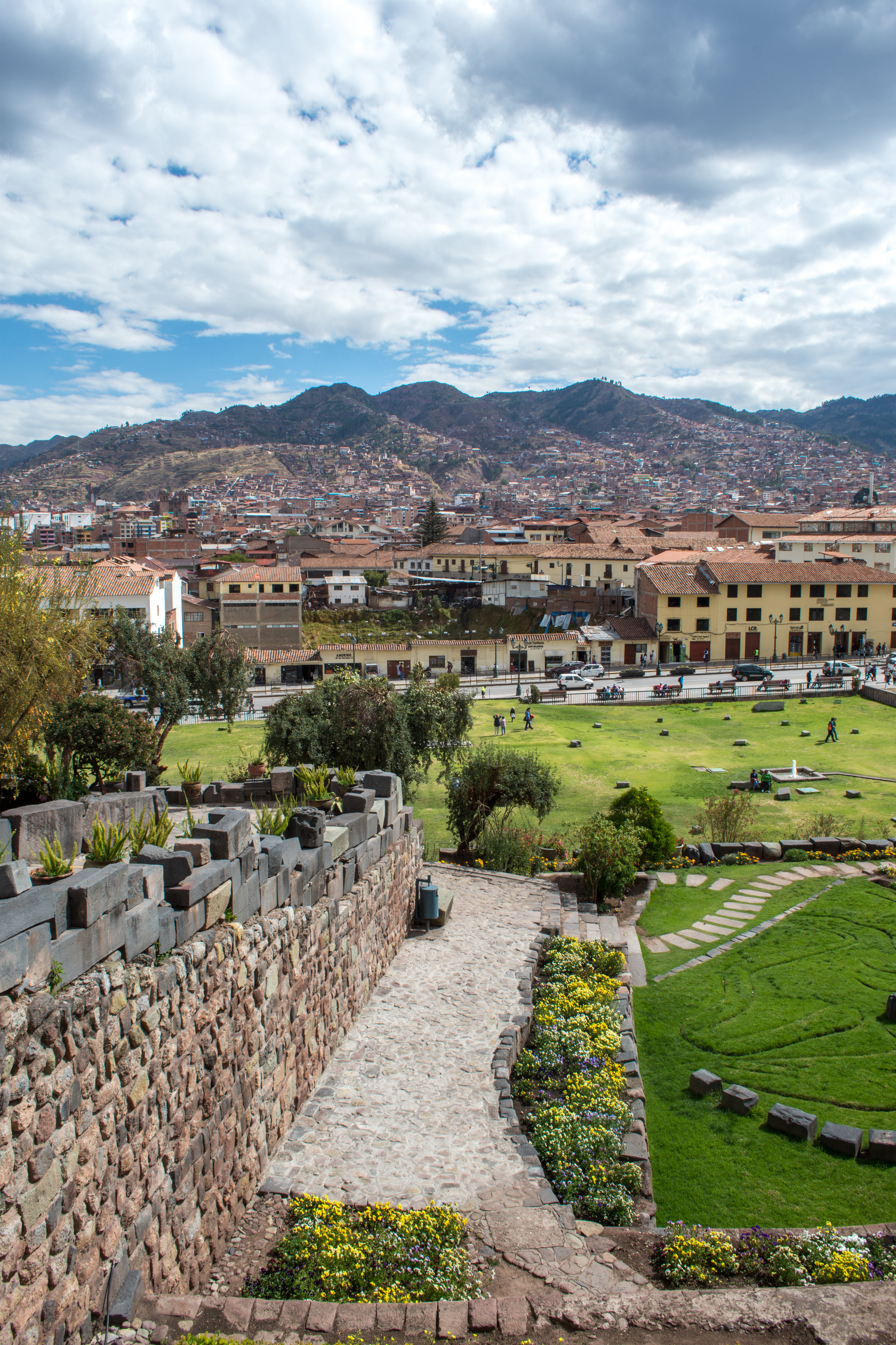 View of Cusco from Qurikancha