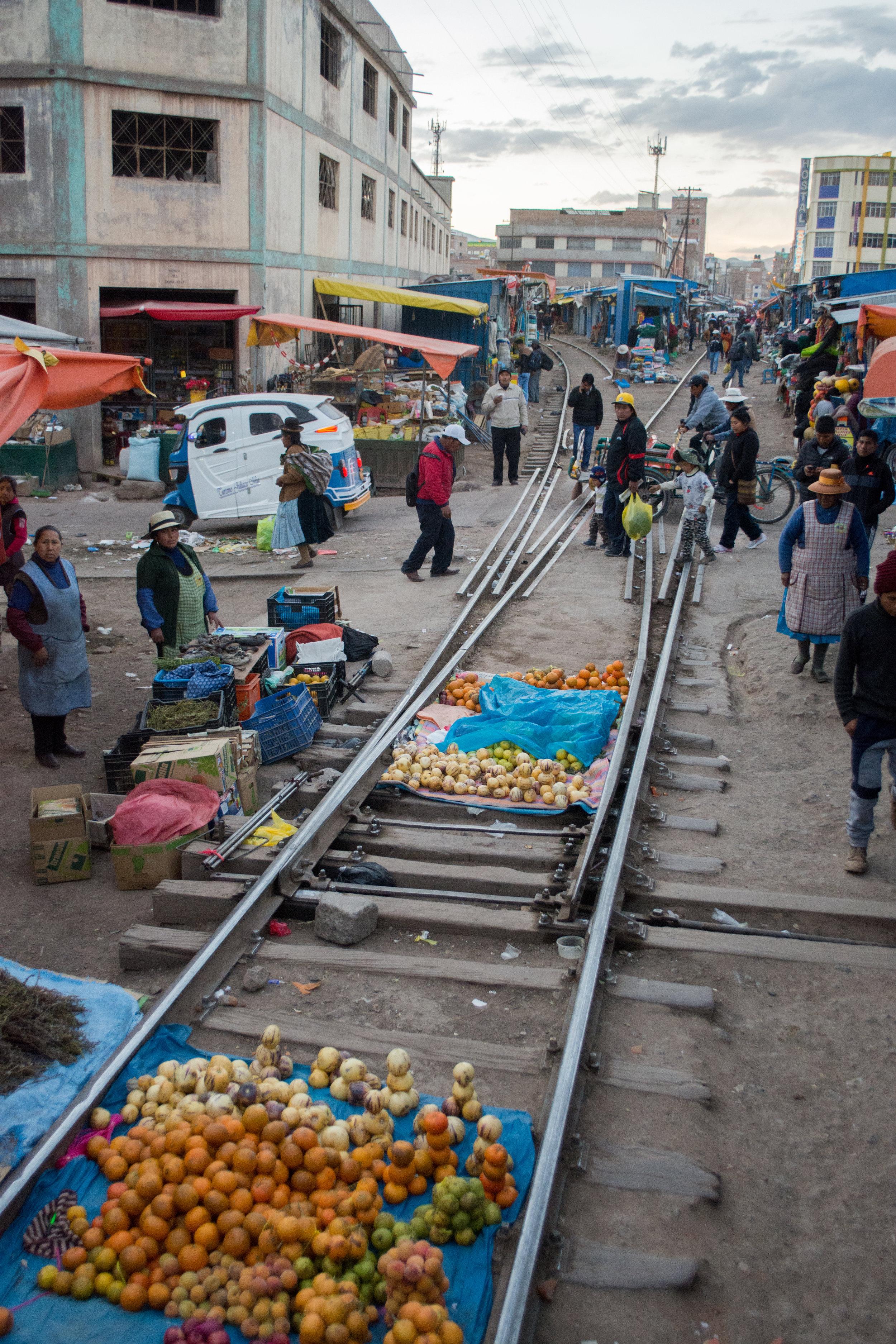 Fruit Market in Juliaca