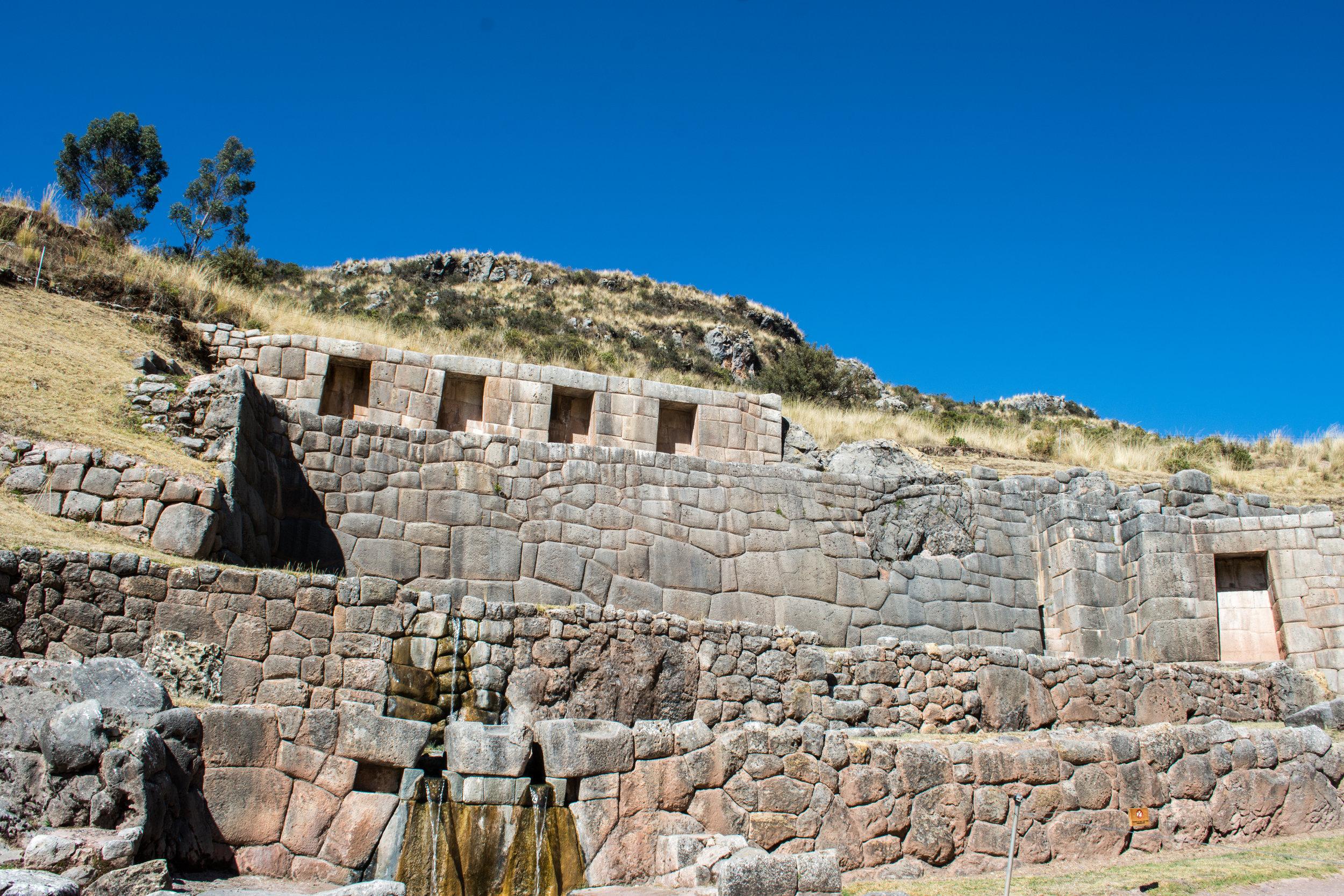 Tambomachay - Inca Water Baths