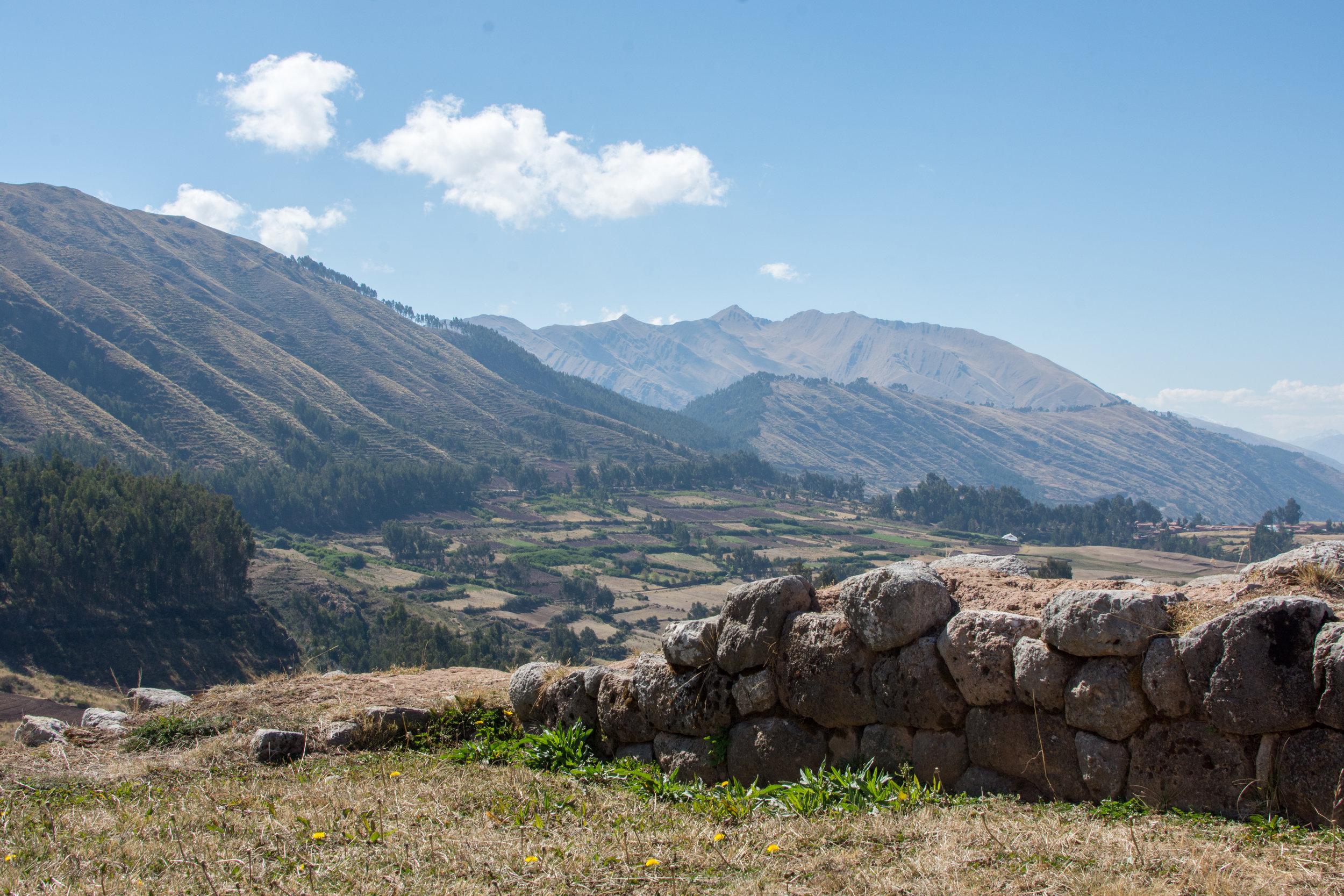 View from Puka Pukara