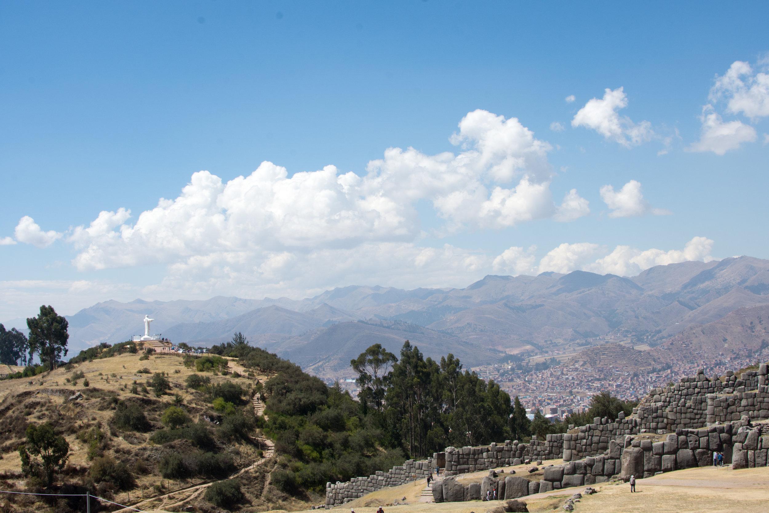 Sacsayhuaman ruins above Cusco