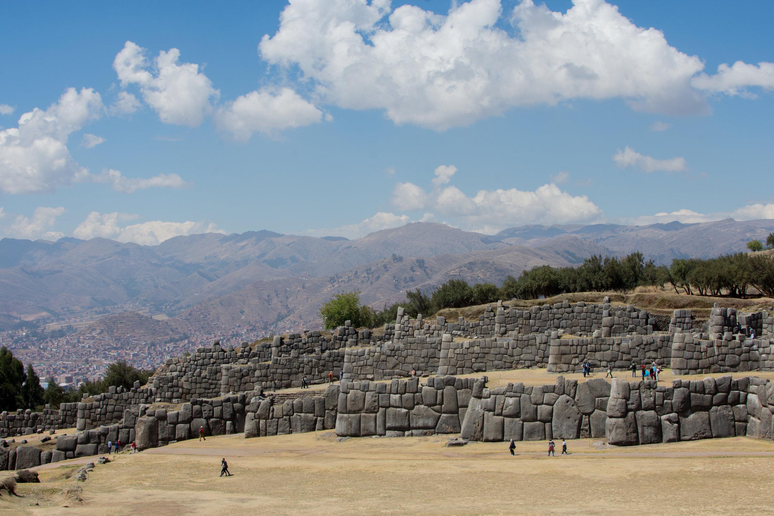 Main square at Sacsayhuaman
