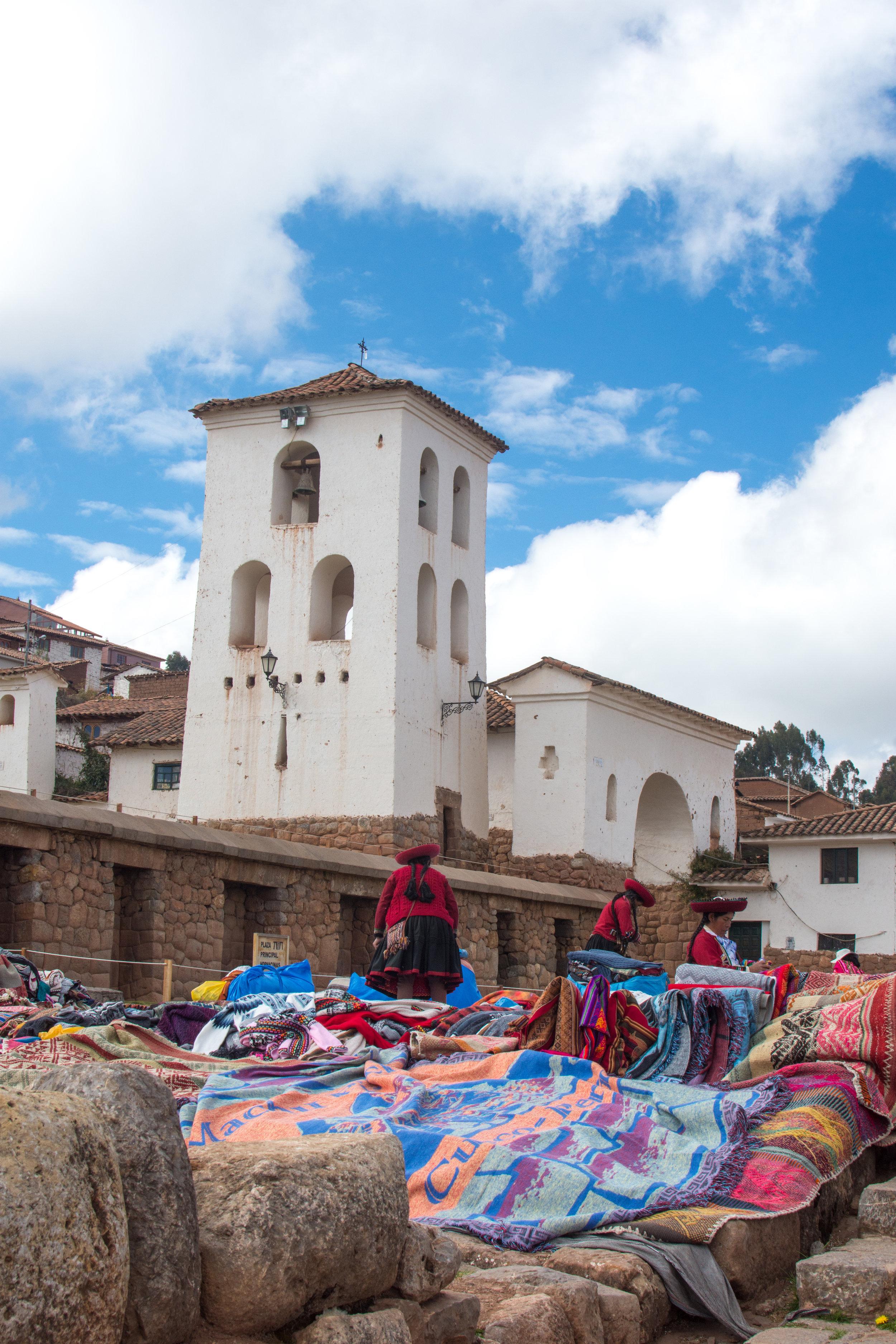 Textile Market at Chinchero