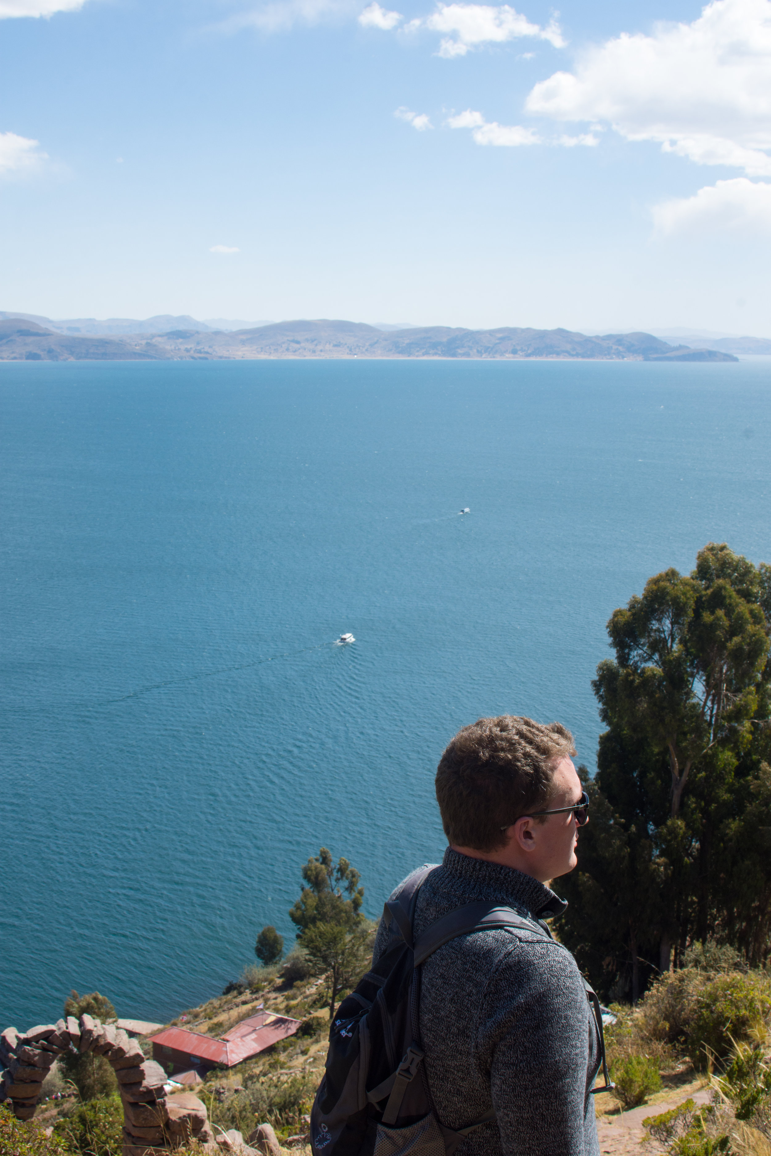 View from Taquile Island