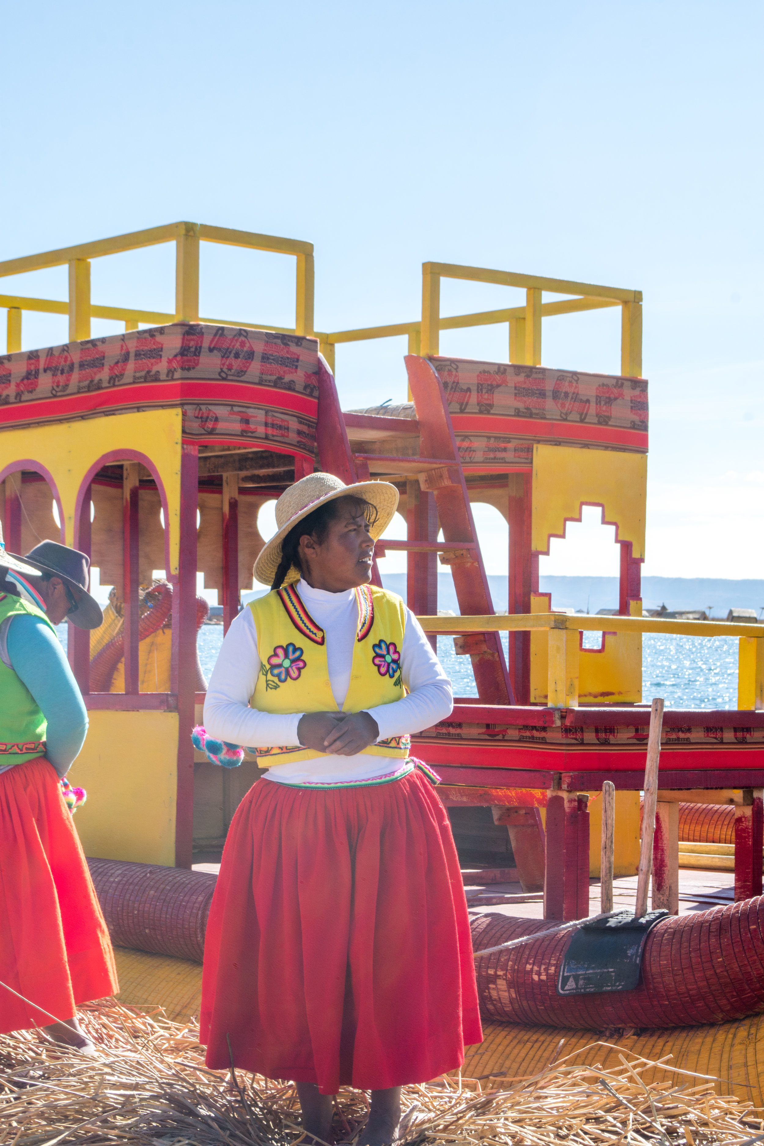 Young Uros Woman
