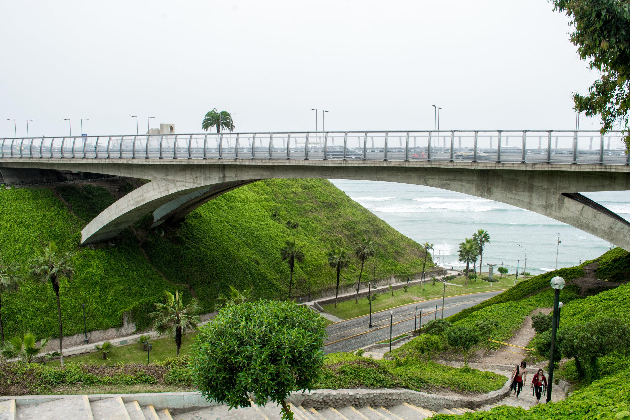 Mellizo Bridge in Miraflores
