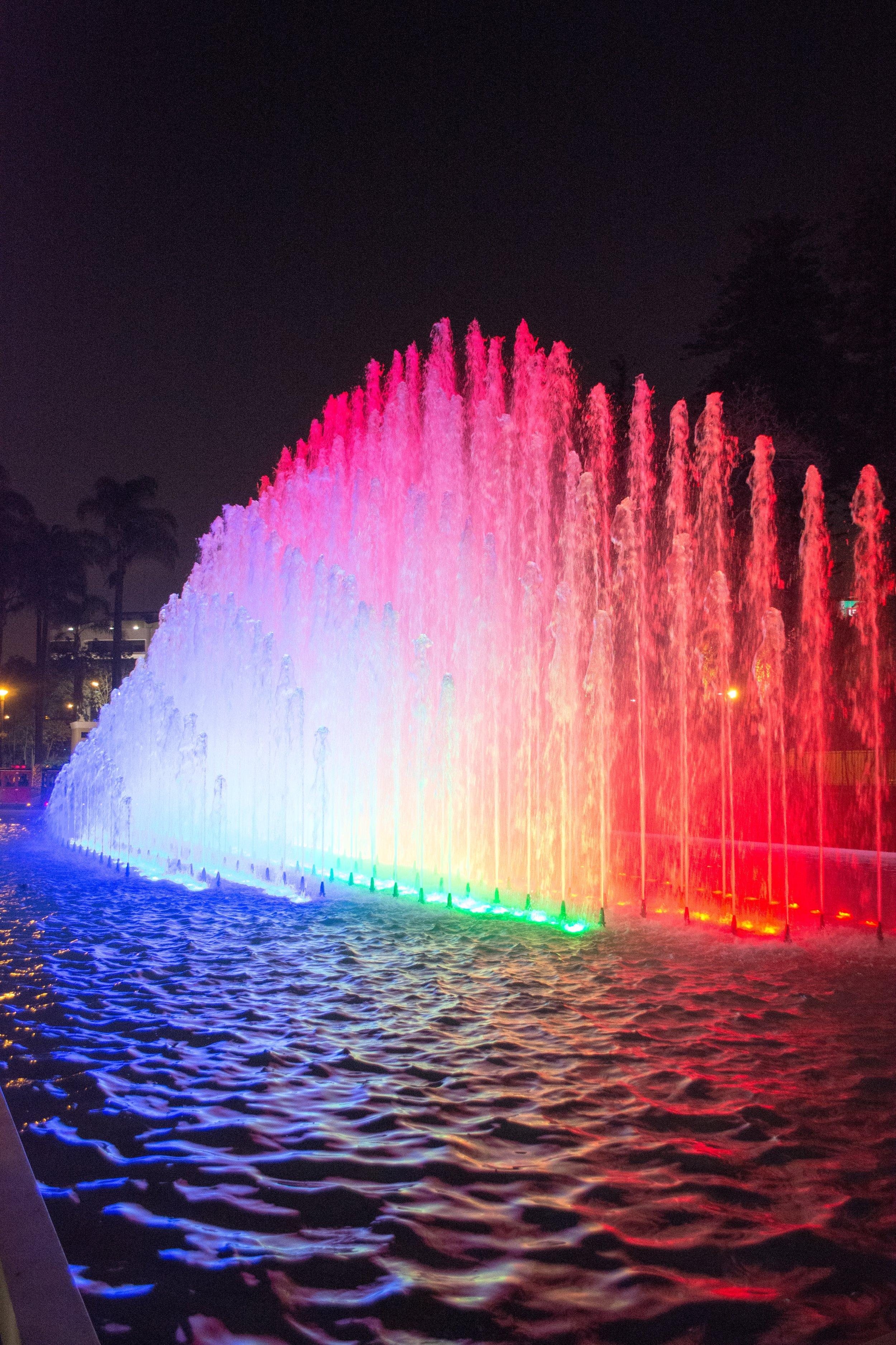 Magic Water Circuit at Parque de la Reserva