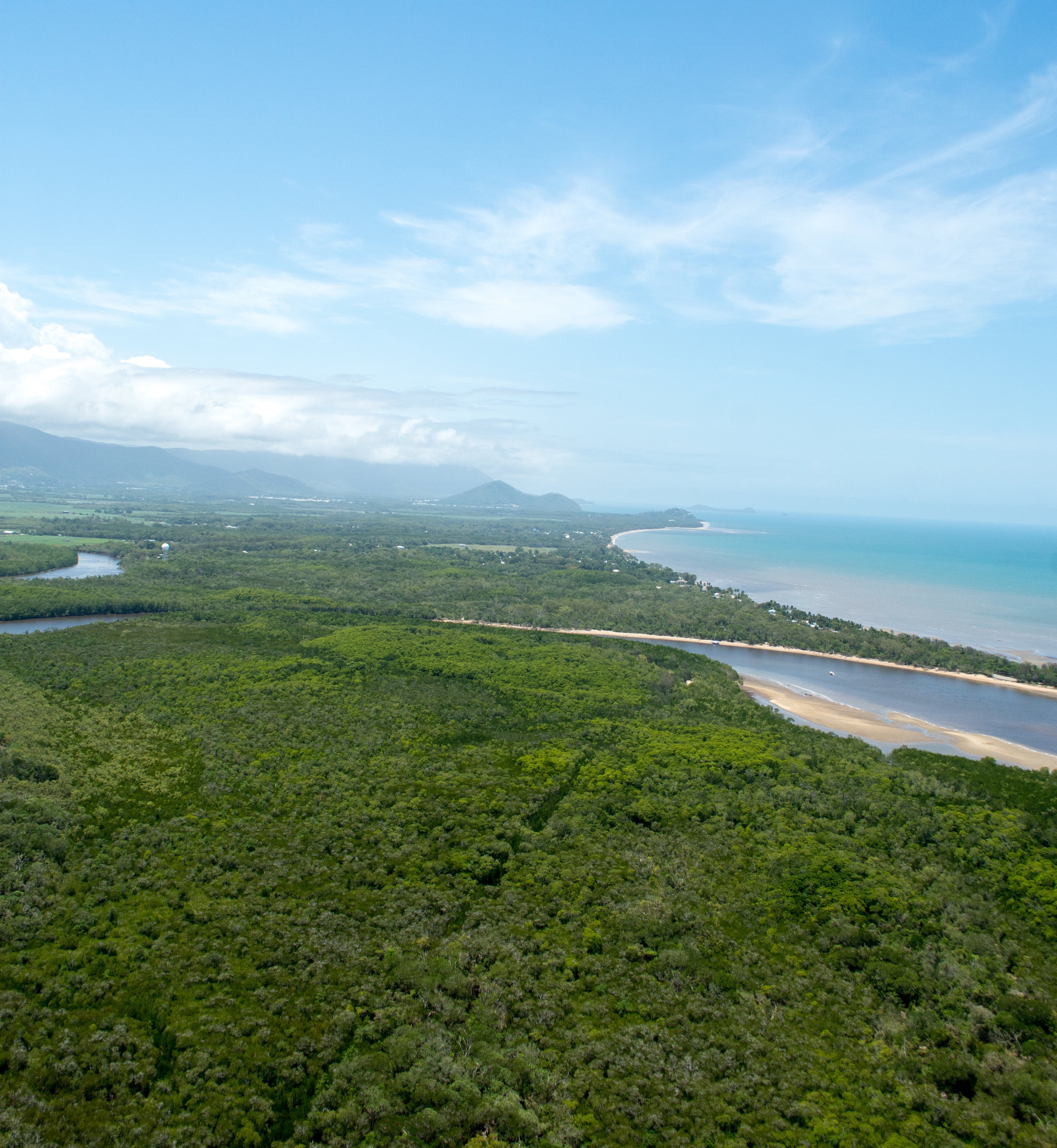 Aerial View of North of Cairns, Australia
