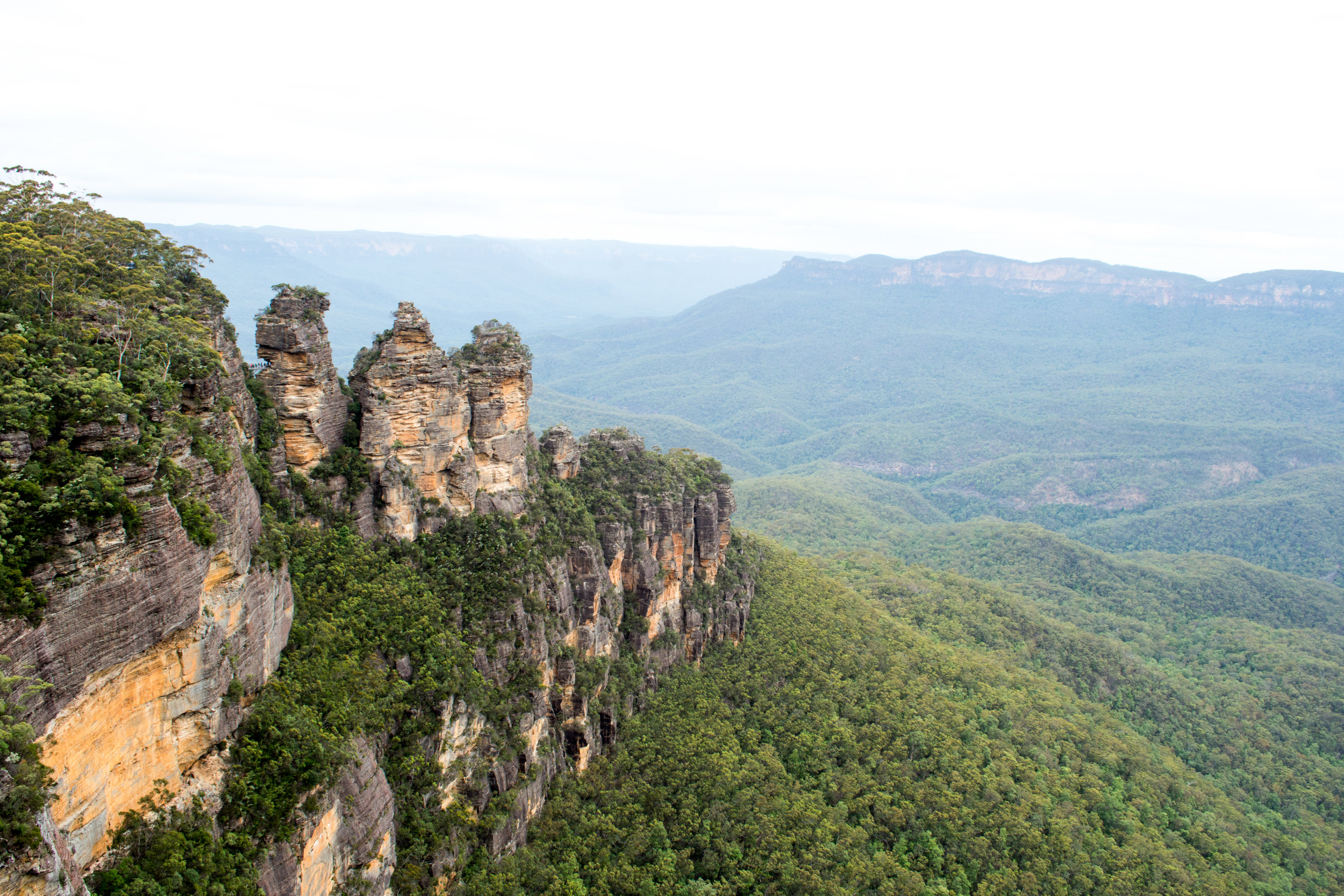 The Three Sisters at Echo Point in the Blue Mountains