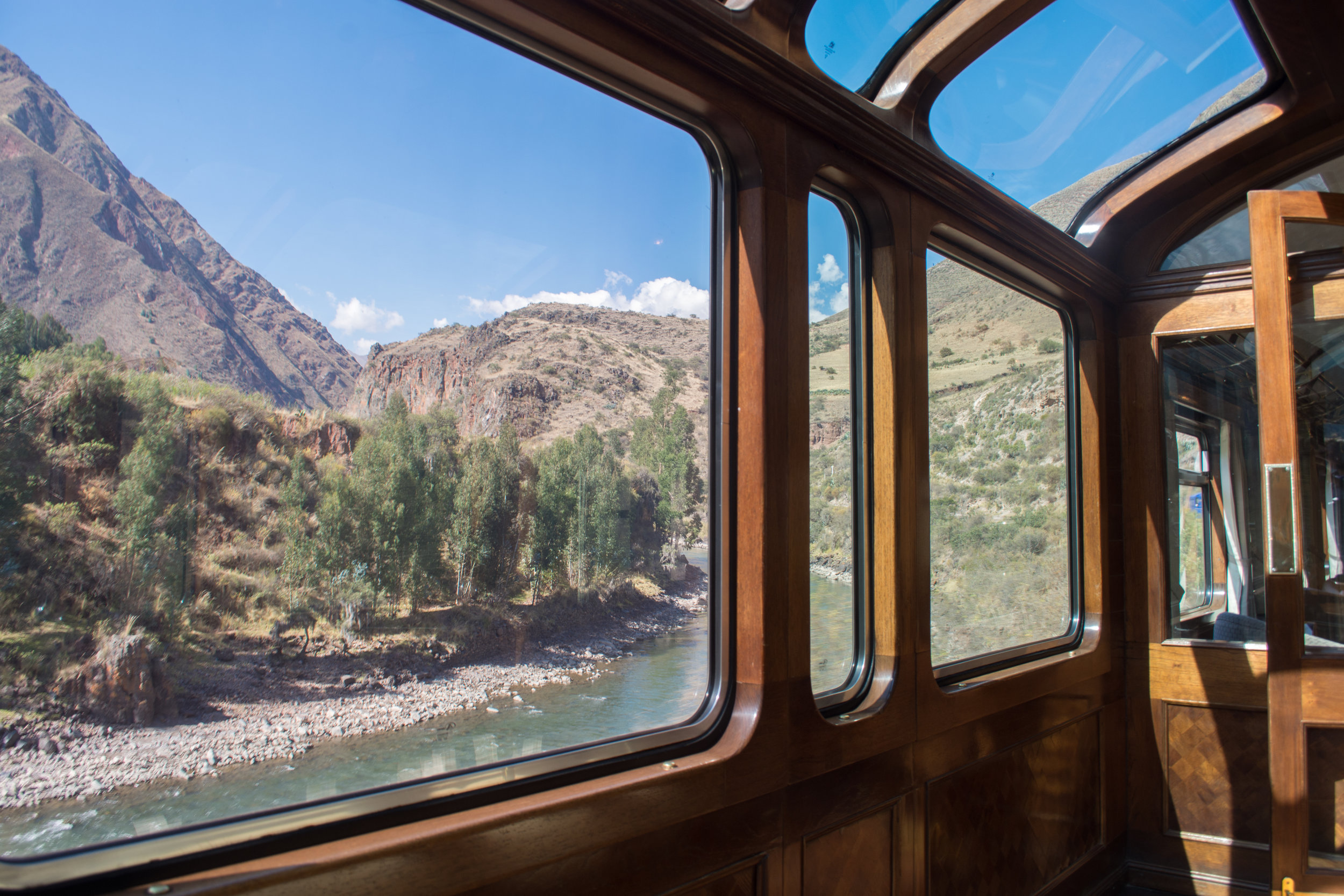Lake Titicaca Train Observation Car