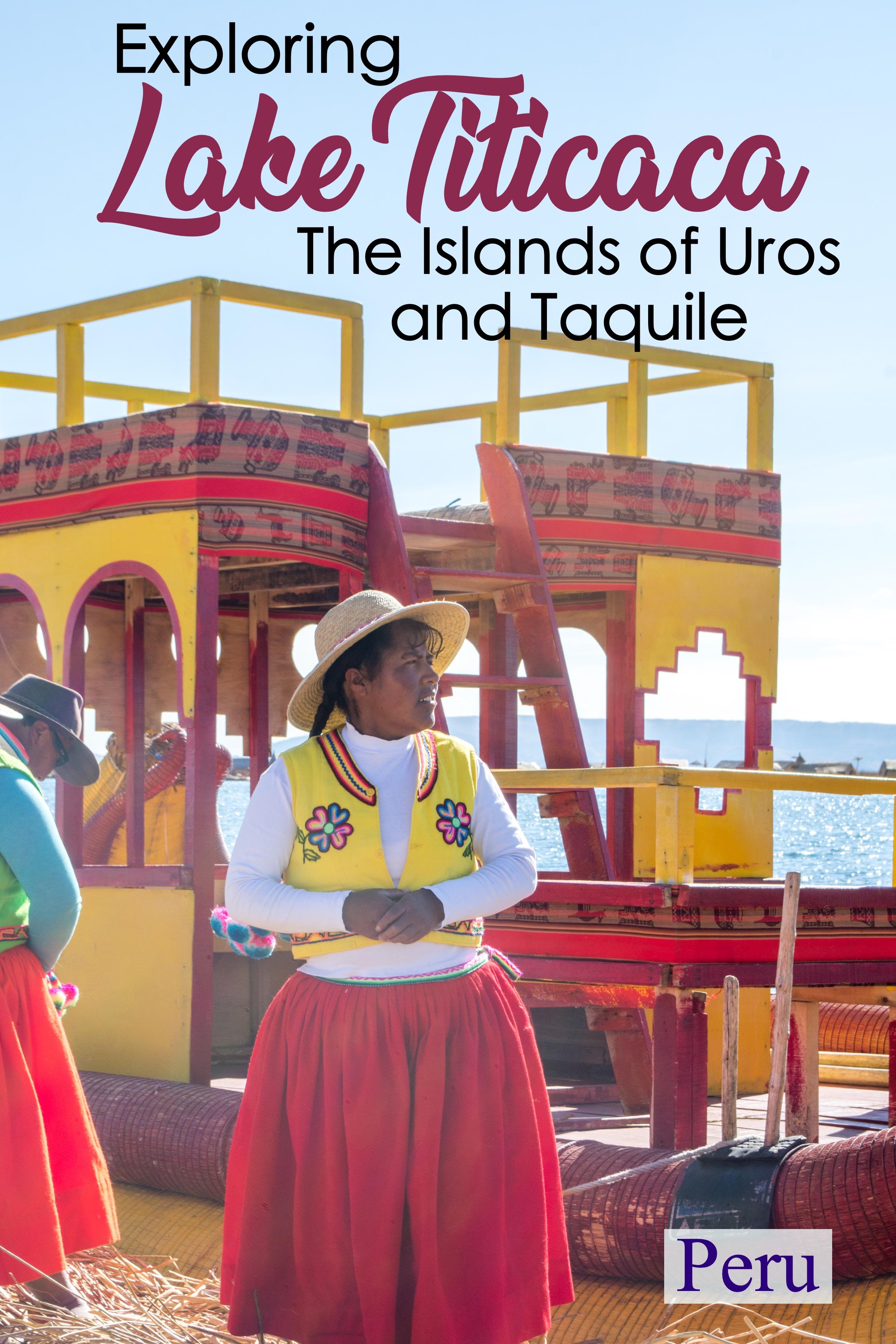 Exploring Lake Titicaca and The Islands of Uros & Taquile | One Day in Puno, Peru #southamerica #laketiticaca #peru