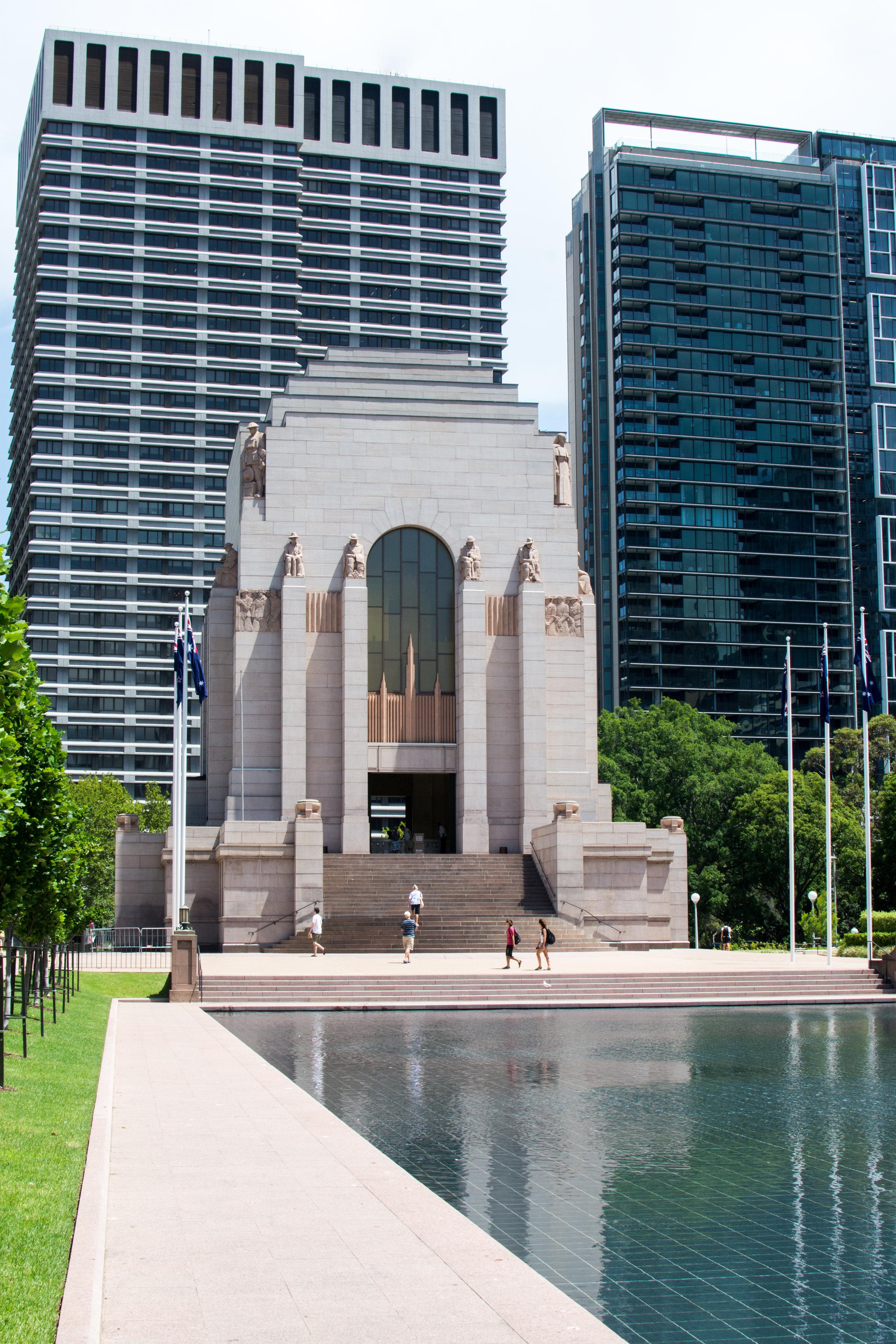 Anzac war memorial – Hyde Park