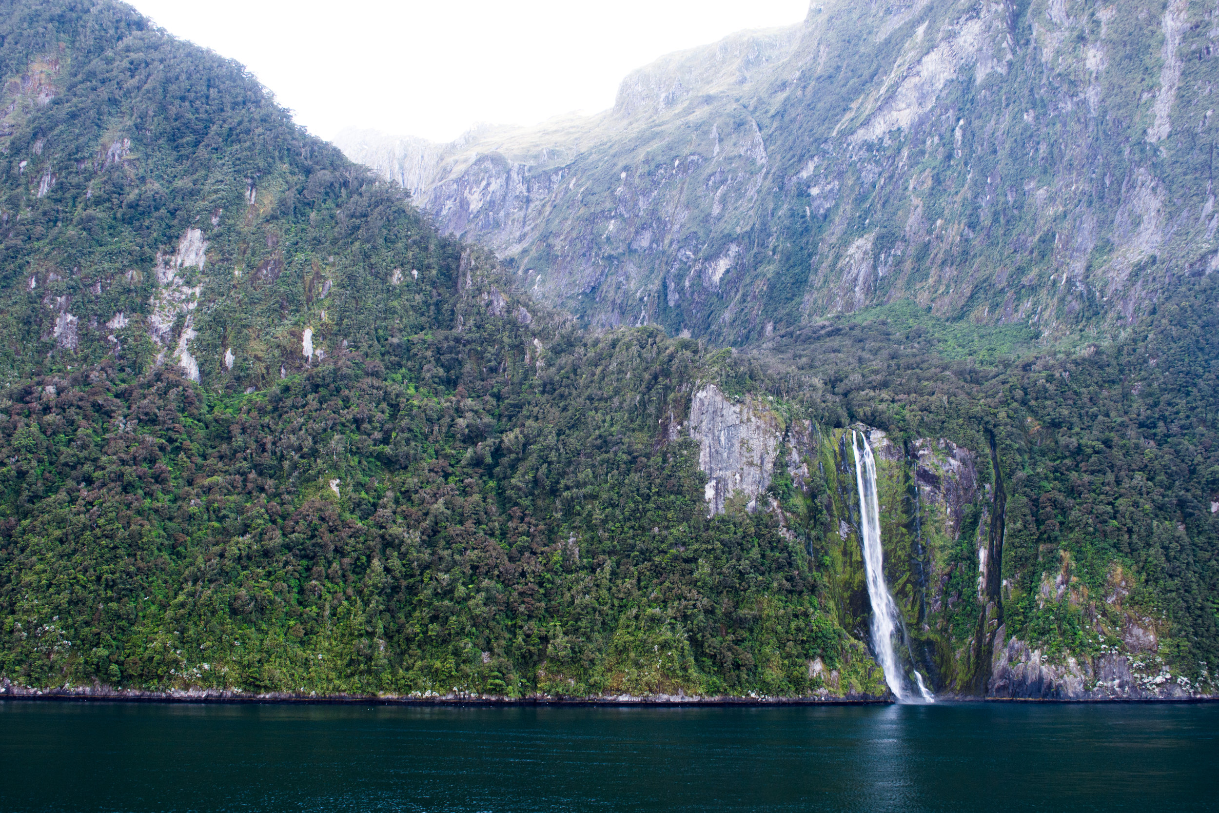 Stirling Falls in Milford Sound
