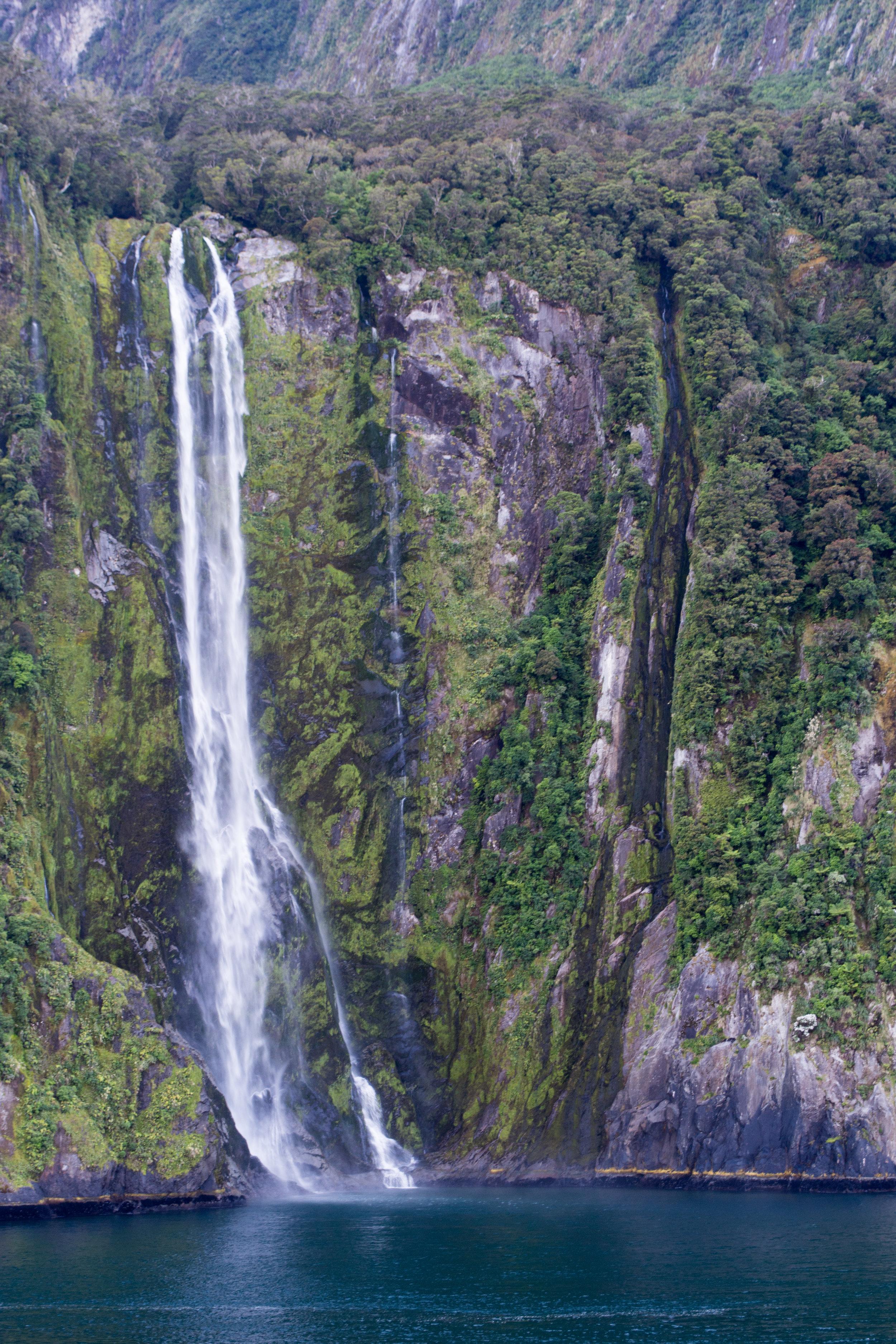 Stirling Falls at Milford Sound
