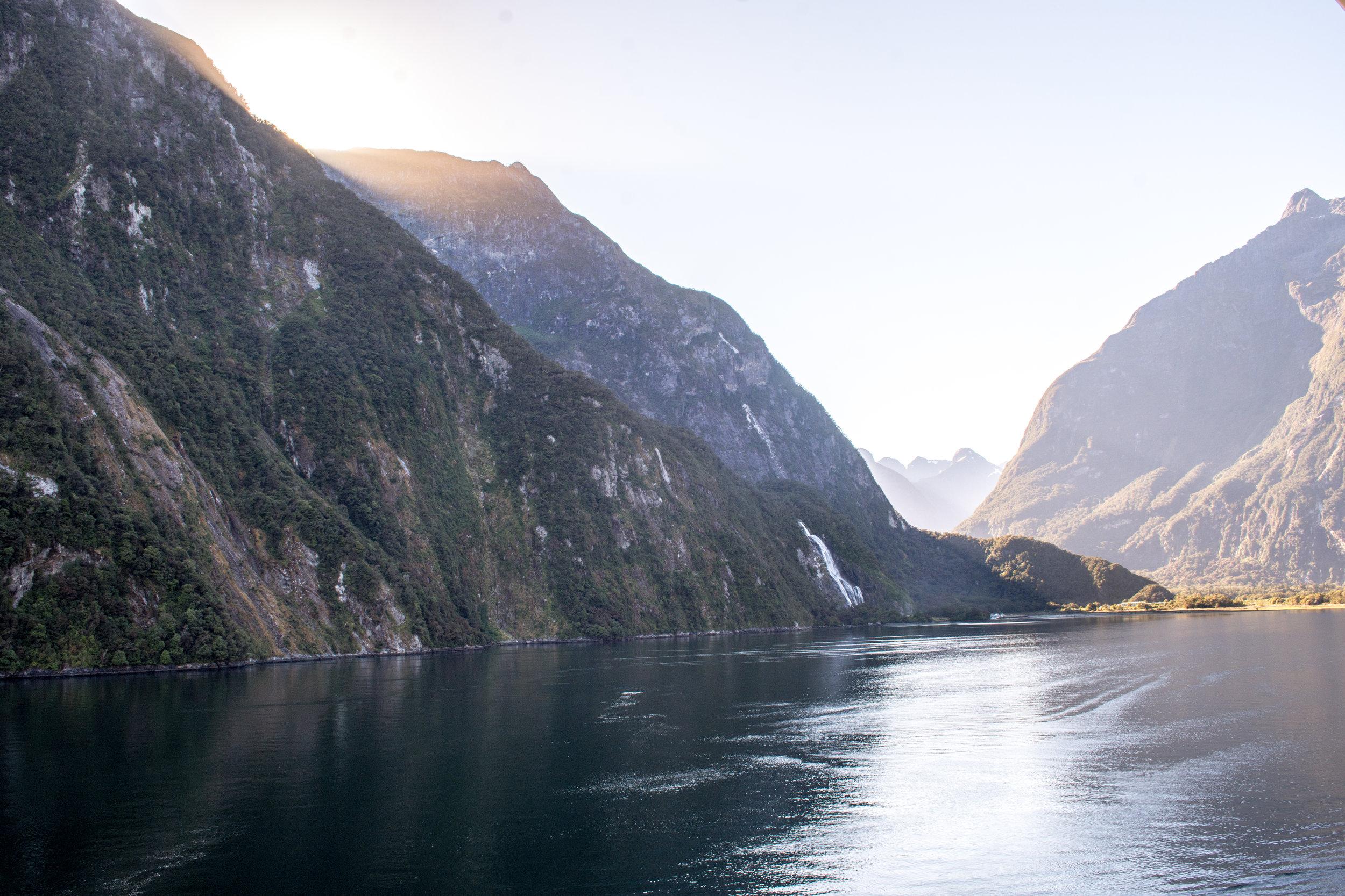 Bowen Falls in Milford Sound