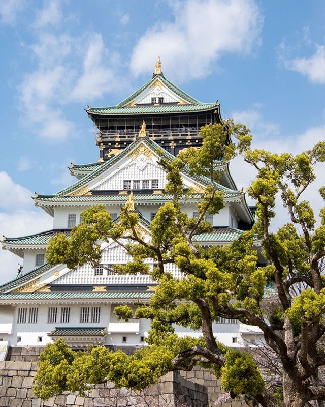 📍Osaka Castle, Japan ___ #osaka #japan #osakacastle #japanese #japanesecastle #blueskies #asia #castlesoftheworld #history #osakajapan #ahappypassport #asian #scenicview #historic #restoration  #roamtheplanet #vacationwolf #TLPicks #travelblogging #blogger #amazingday #neverstopexploring #traveladdict #travelcouple #traveltogether