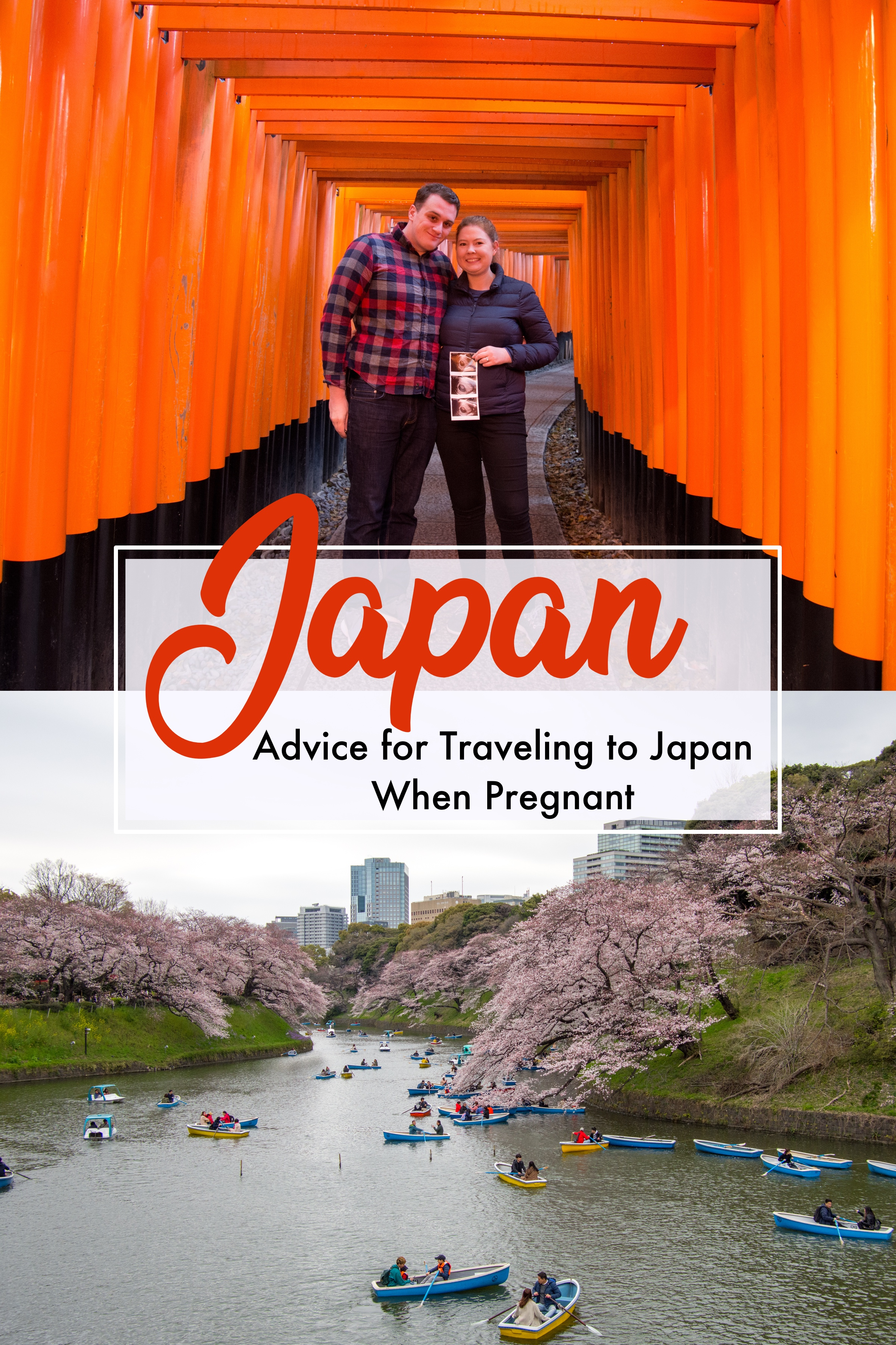 Tips for Traveling to Japan When Pregnant.  Japan is a perfect destination for a Babymoon, but there are things to consider when visiting Japan when you are expecting. #Japan #babymoon #pregnant #travel #pregnanttravel