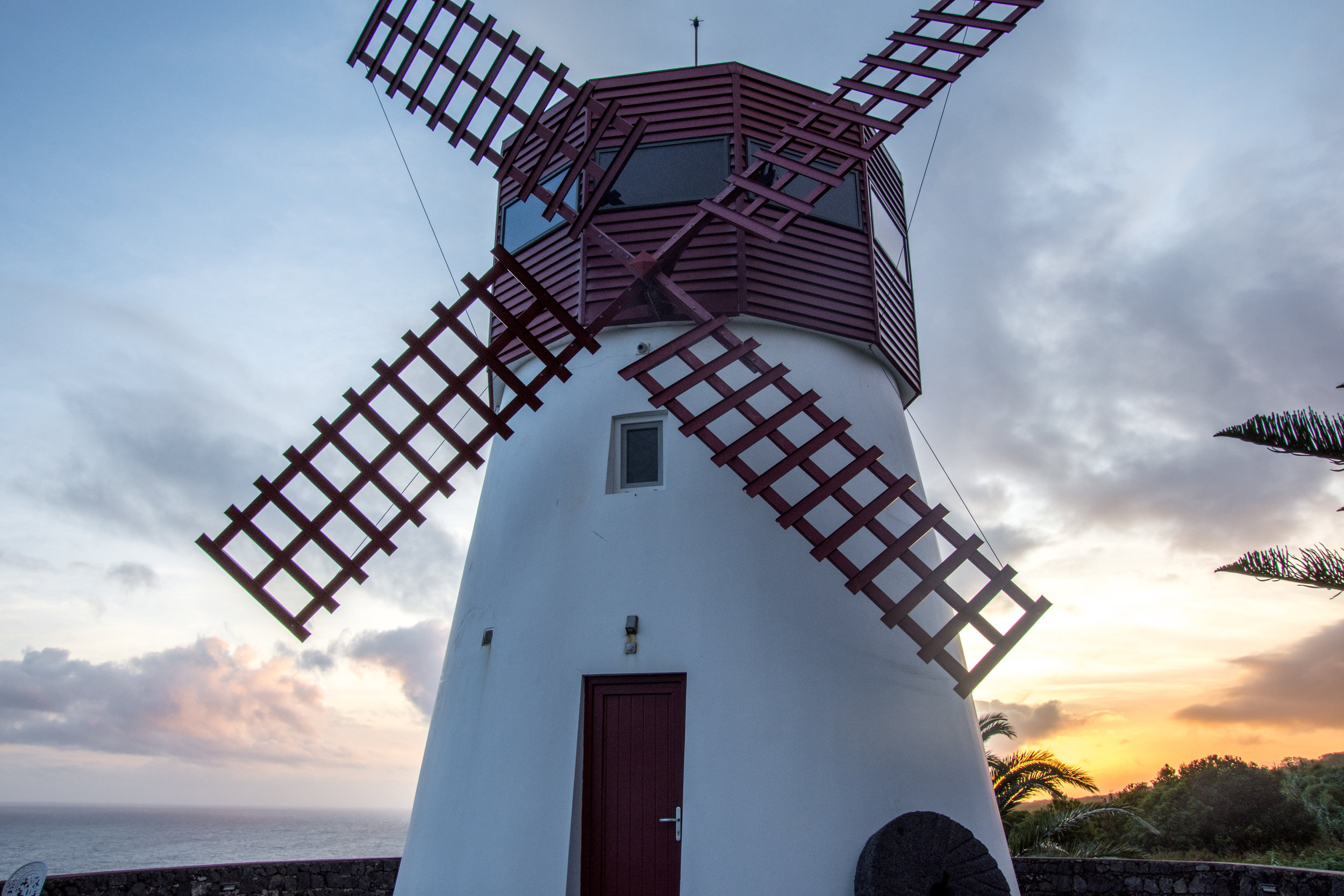 Windmill Airbnb on Sao Miguel in the Azores