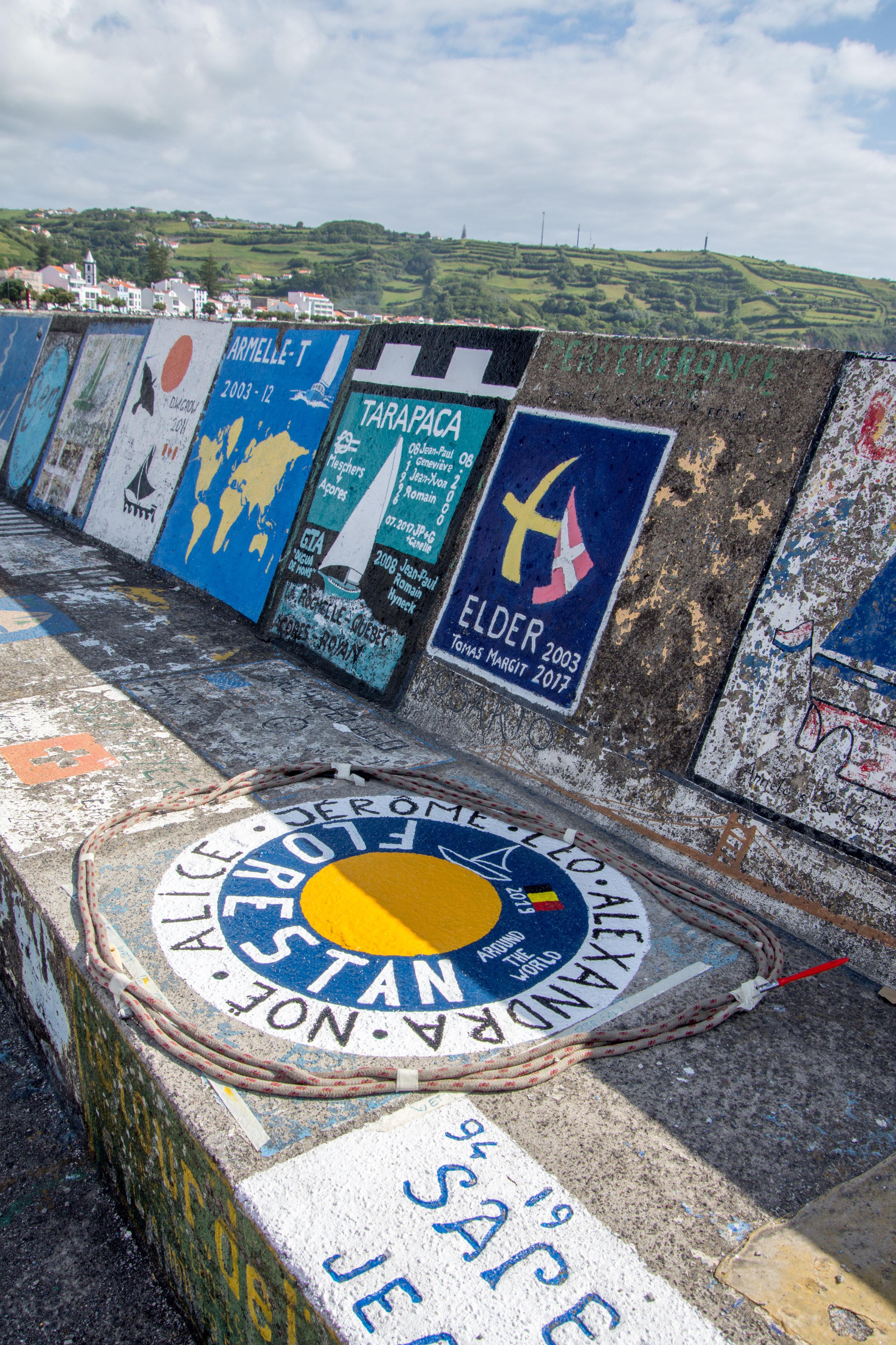 Murals in Horta