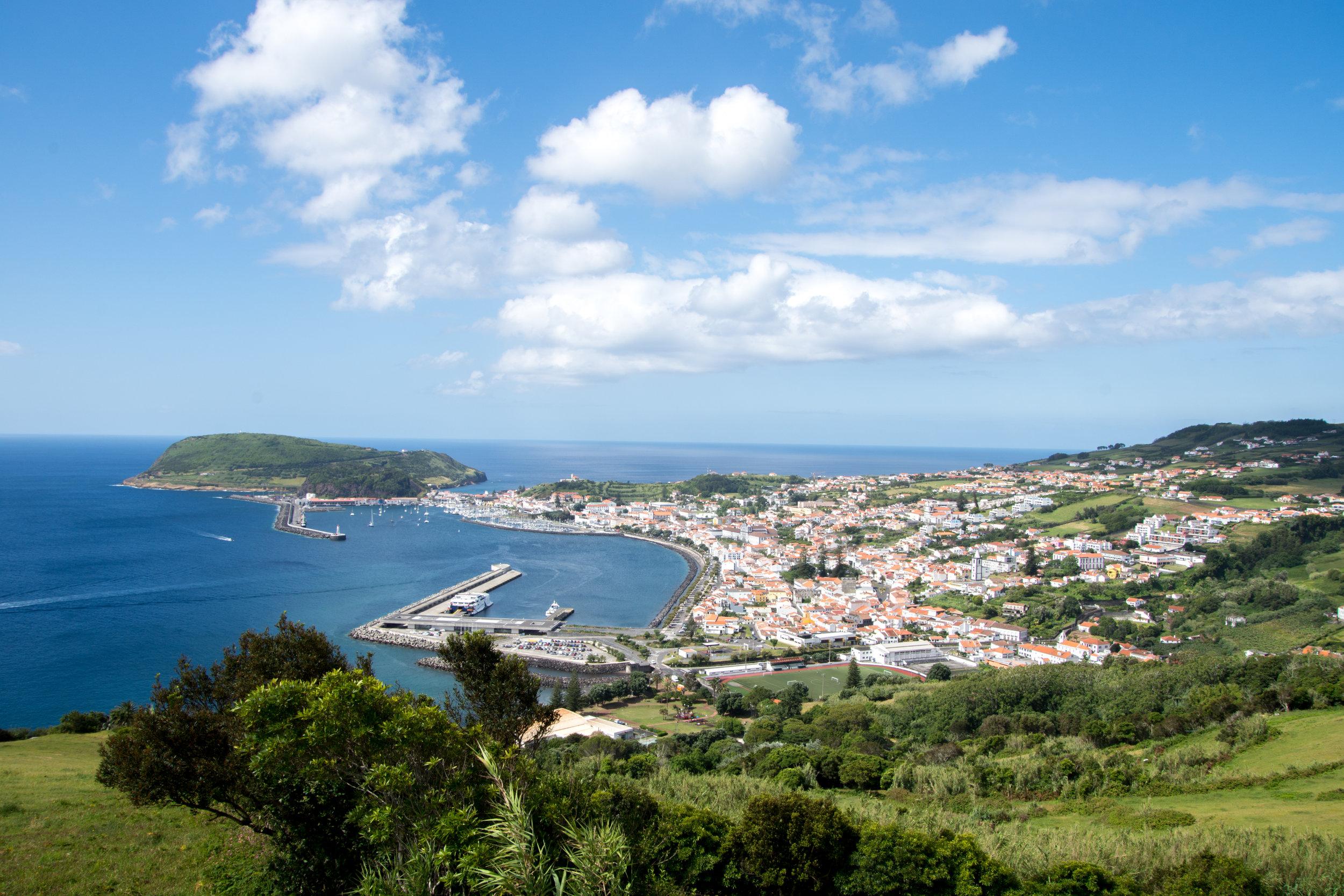 View of Horta