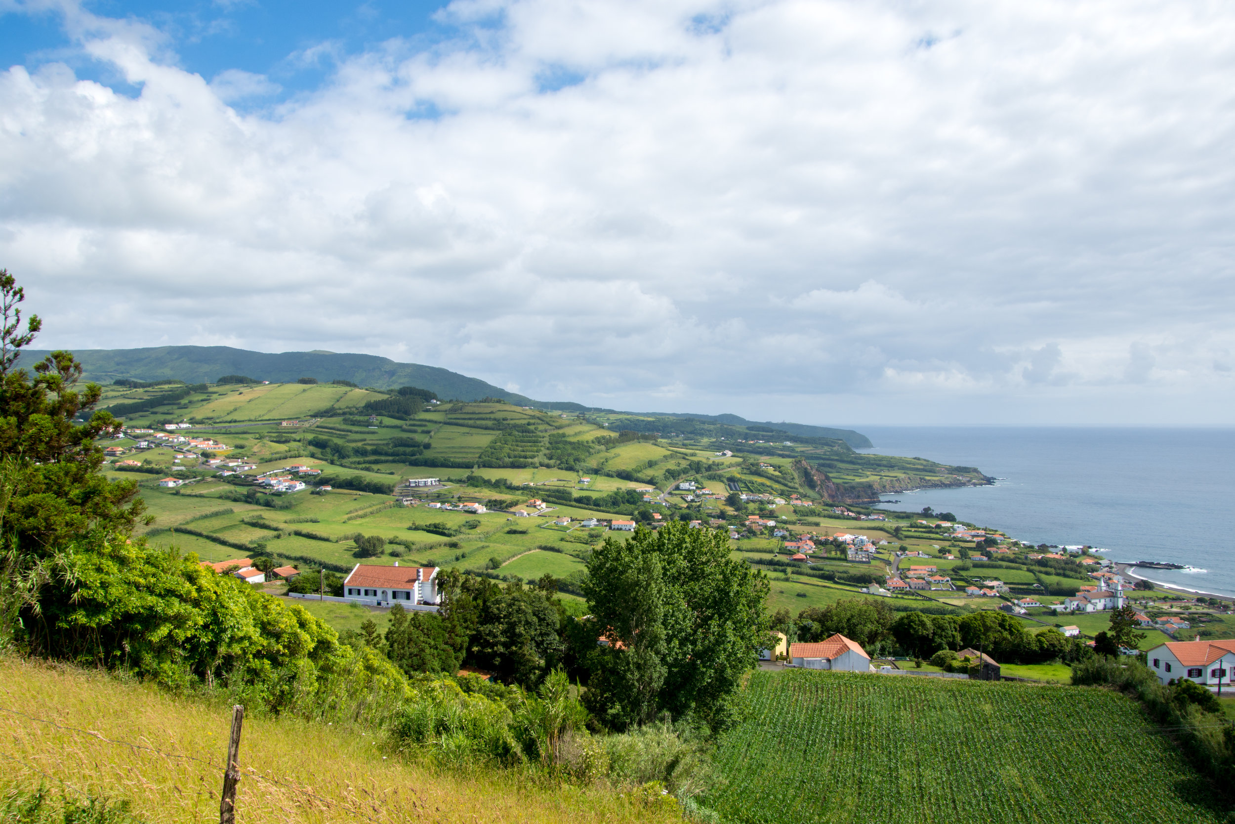 View of Faial