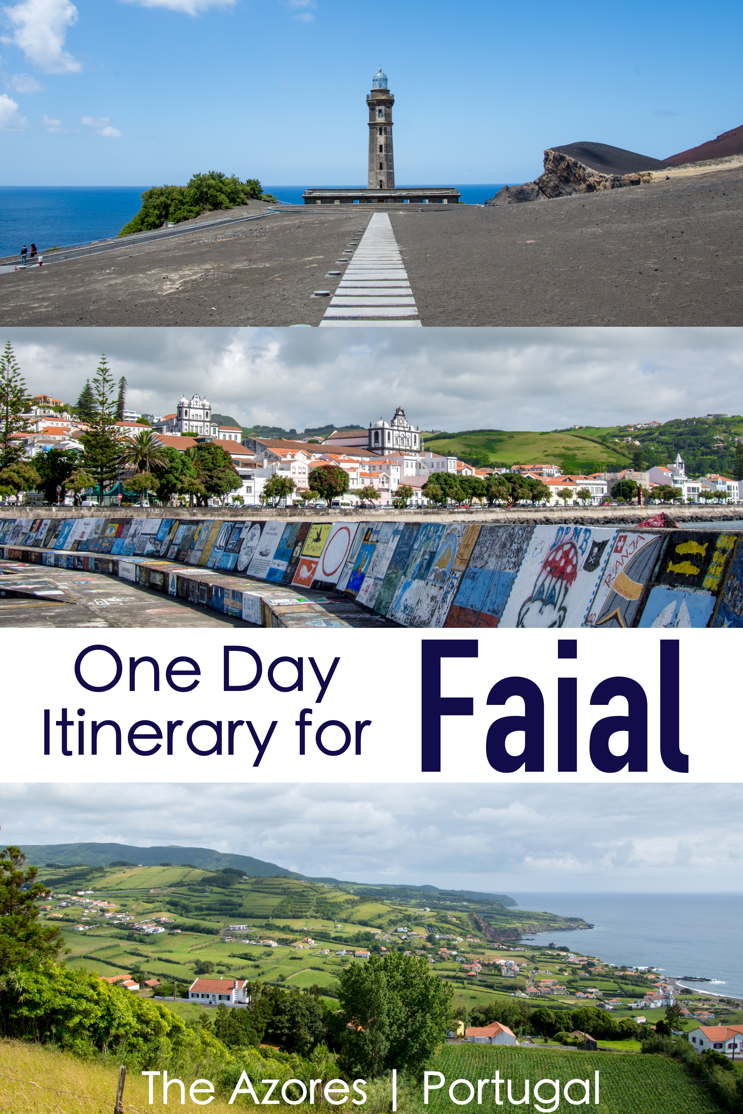 One Day on Faial Island in the Azores | Self-Driving Itinerary.  Faial Island is part of the Azores archipelago of Portugal. #portugal #azores #faial #horta