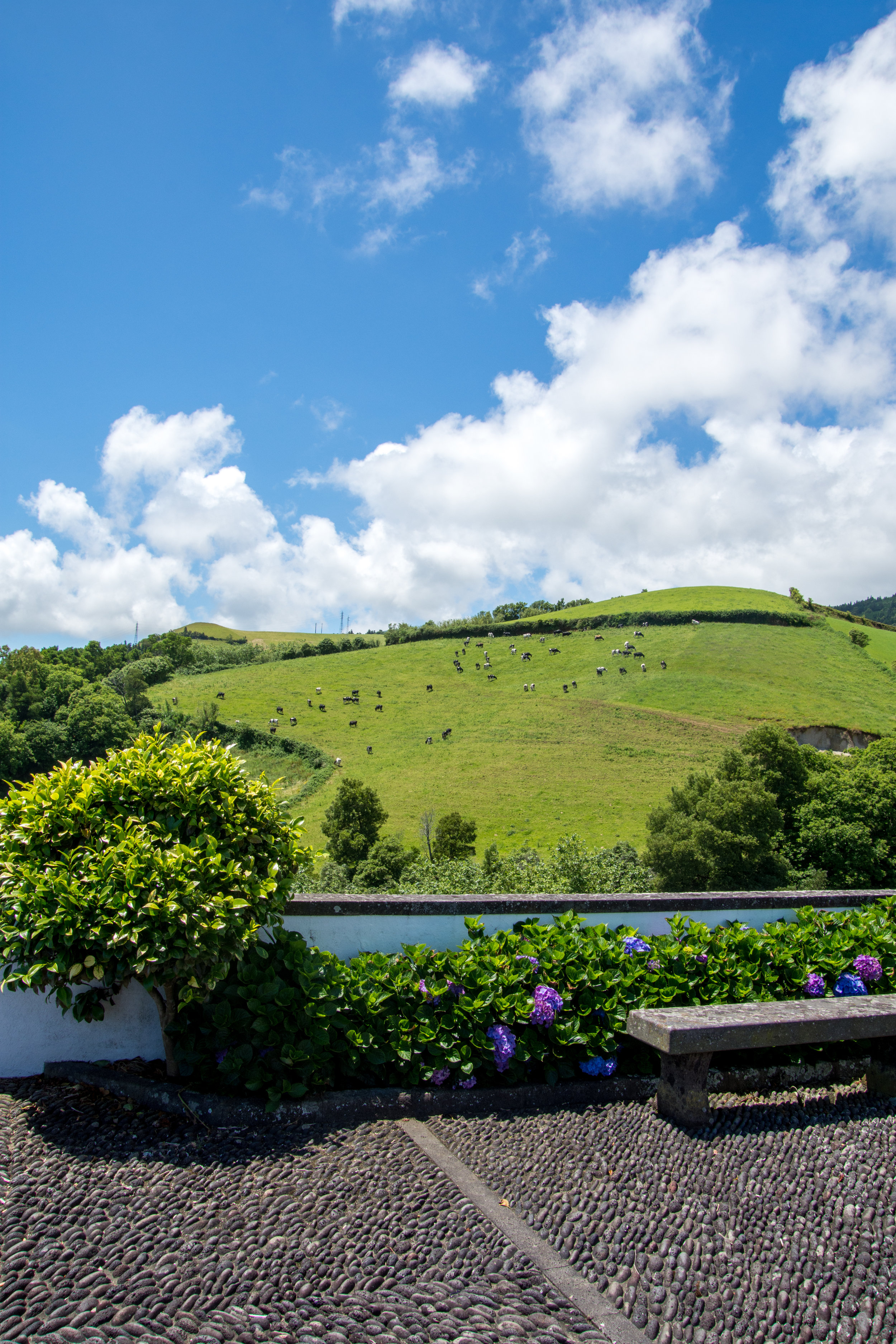 View from Our Lady of Peace Chapel – São Miguel Island