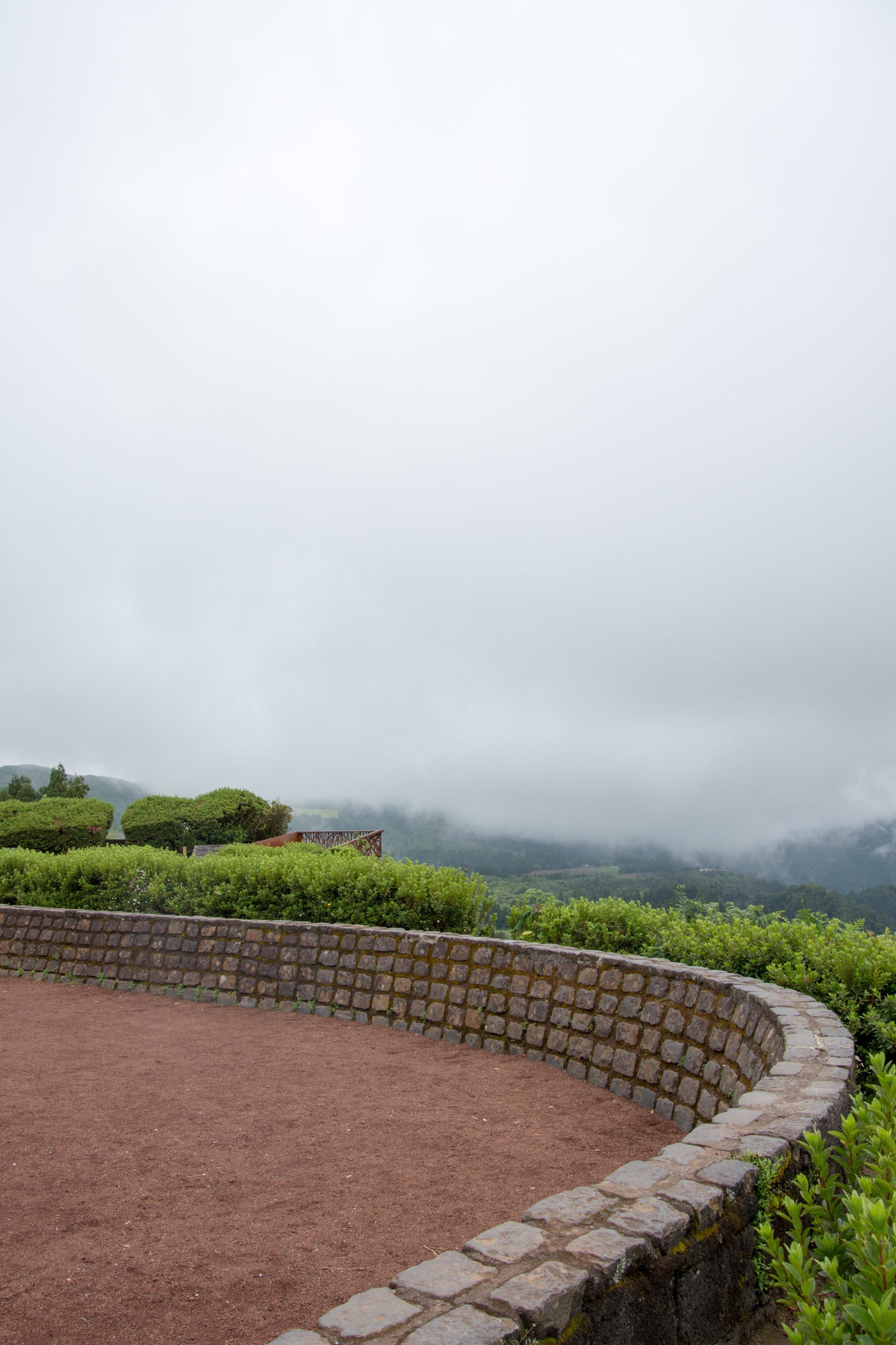 Miradouro do Pico do Ferro on a Foggy Day