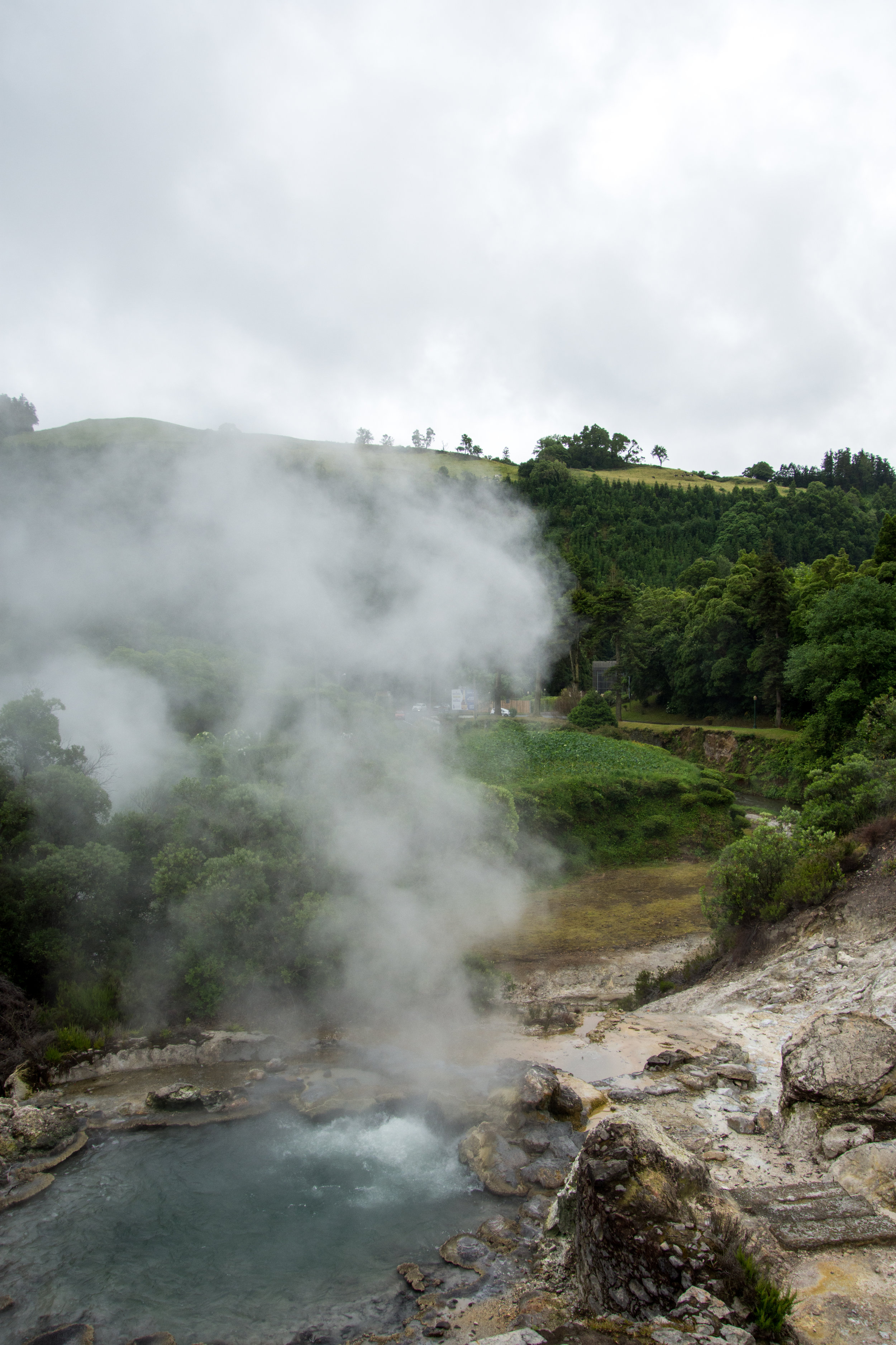 Caldeiras Vulcânicas in Furnas on Sao Miguel Island