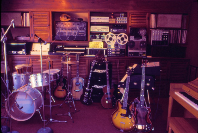 Don Muro's studio in 1974