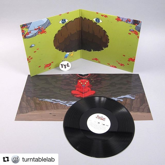 Did you catch the final episode of Adventure Time? This vinyl release from @mondonews includes the full score of the episode, with musical contributions from @rebeccasugar, @willowsmith and Magic Drop artist @ashleyeriksson!  #Repost @turntablelab ・・・ full score from the #AdventureTime series finale, ft #WillowSmith, #AshleyEriksson + #RebeccaSugar (#StevenUniverse) ⁠⠀