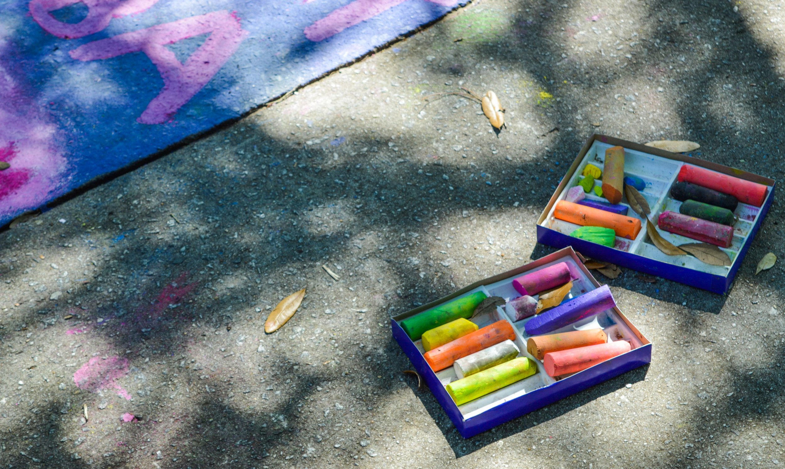 Play with Chalk! -