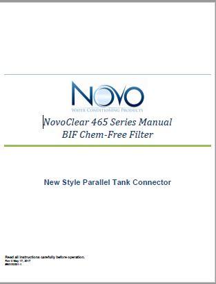 465 BIF Chem-Free Filter Manual