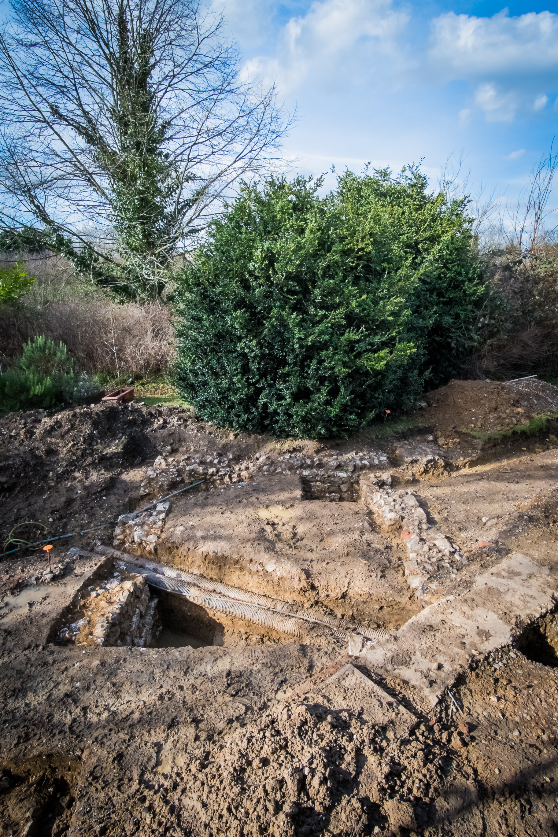 Finding hidden archaeology during HLF funded renovation of historic building