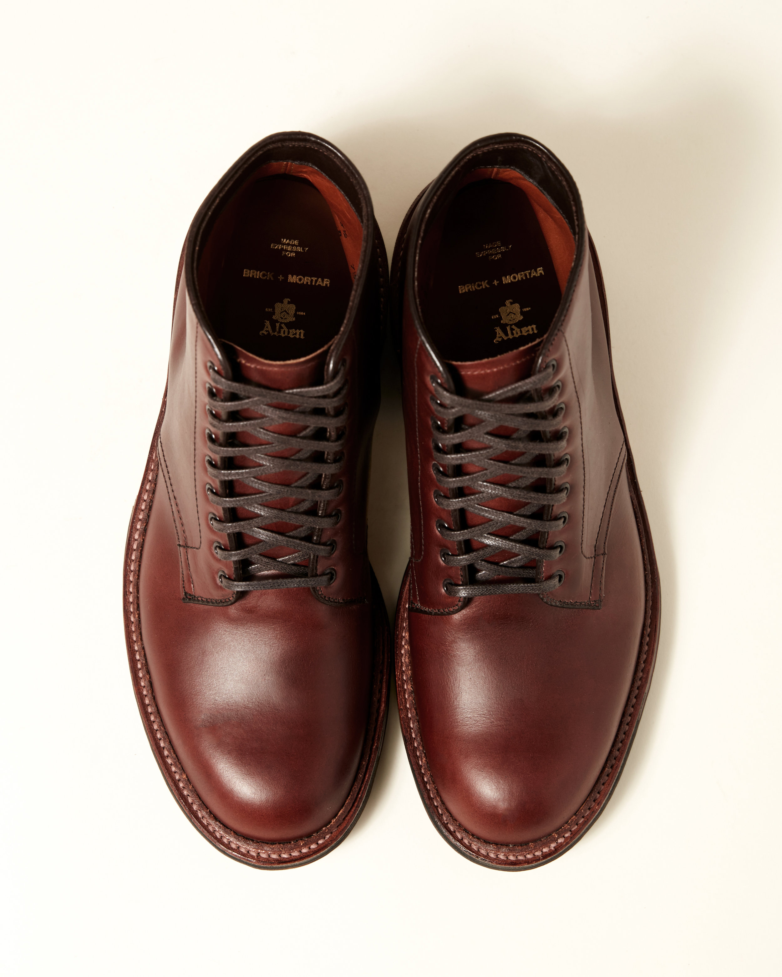 Brown Chromexcel Plain Toe Boot
