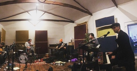 We've had our last rehearsal before our Royal Exchange Show and we are super excited! Can't wait to see you there! @rxtheatre #manchestermusic #honeyfeet #bandonthewall