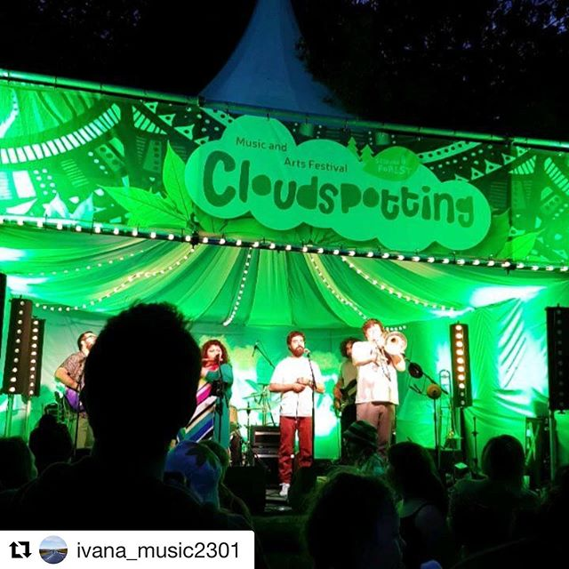 #Repost @ivana_music2301 with @get_repost ・・・ Absolutely Fantastic weekend at #cloudspottingfestival ☁️😍🤩 there were some incredible bands including the amazing @honeyfeetmusic 😍💕 We had a great time and definitely feeling inspired! 😘 🎶☁️ #cloudspotting #musicfestival #TheGrandTeam #workhardplayhard #wesmashedit #perfectweather #welldoneteam