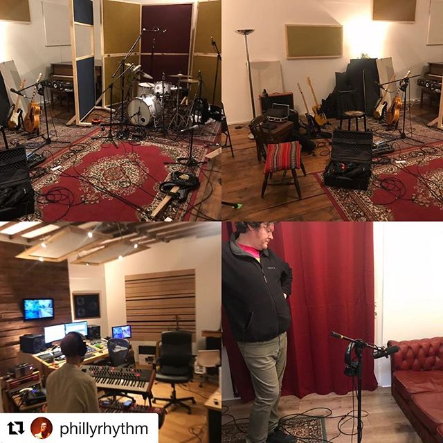 #Repost @phillyrhythm with @get_repost ・・・ @honeyfeetmusic #album #recording with the absolute gents that are @wraudio  really looking forward to tomorrow, it's sounding #awesome