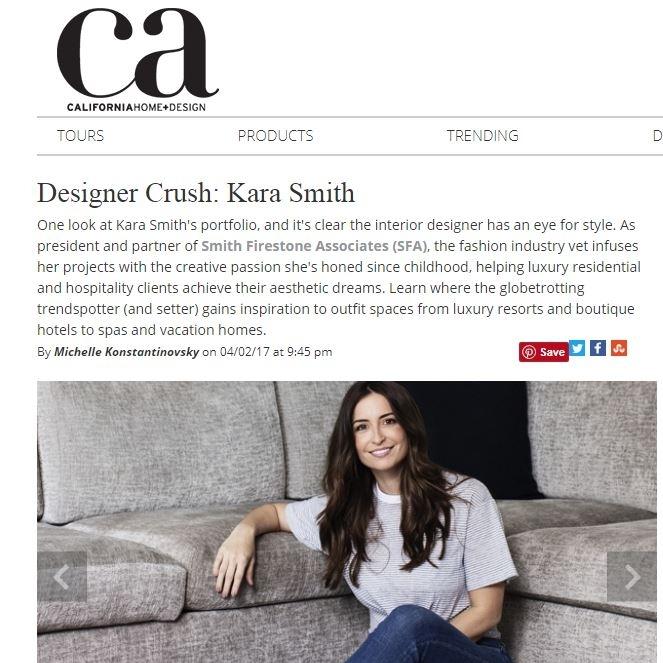 CA HOME + DESIGN - DESIGNER CRUSH