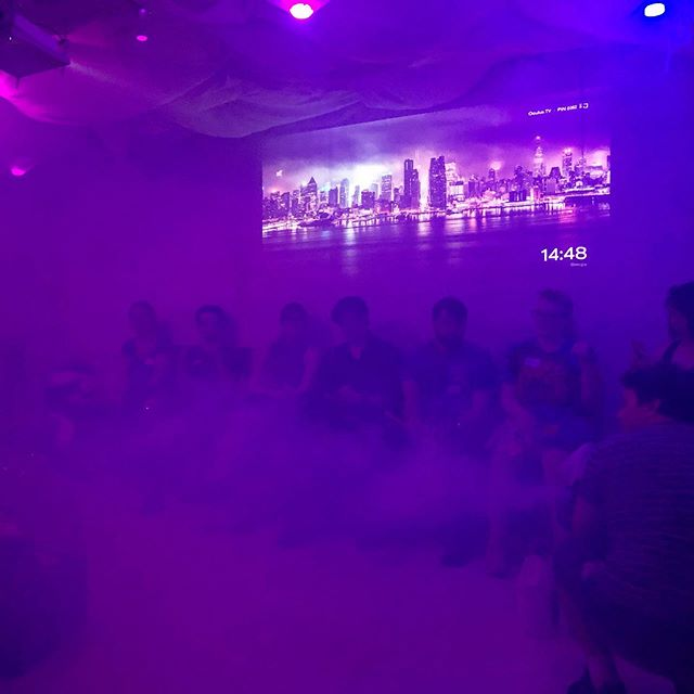 New York Immersive Challenge in progress #sneakpeek Fog and dreams...