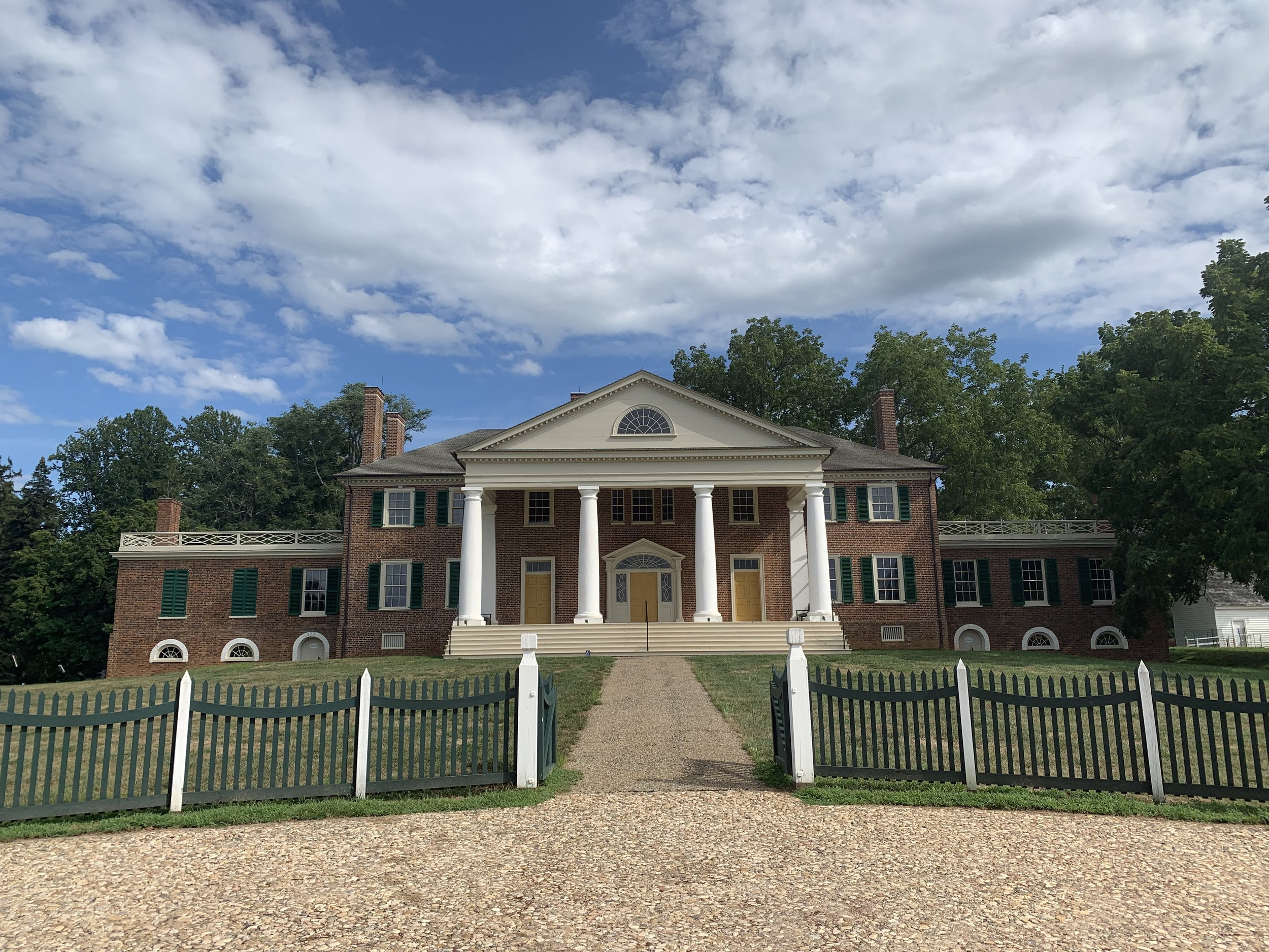 Montpelier, Montpelier Station, Virginia. Photo by Renée Ater, August 2019.